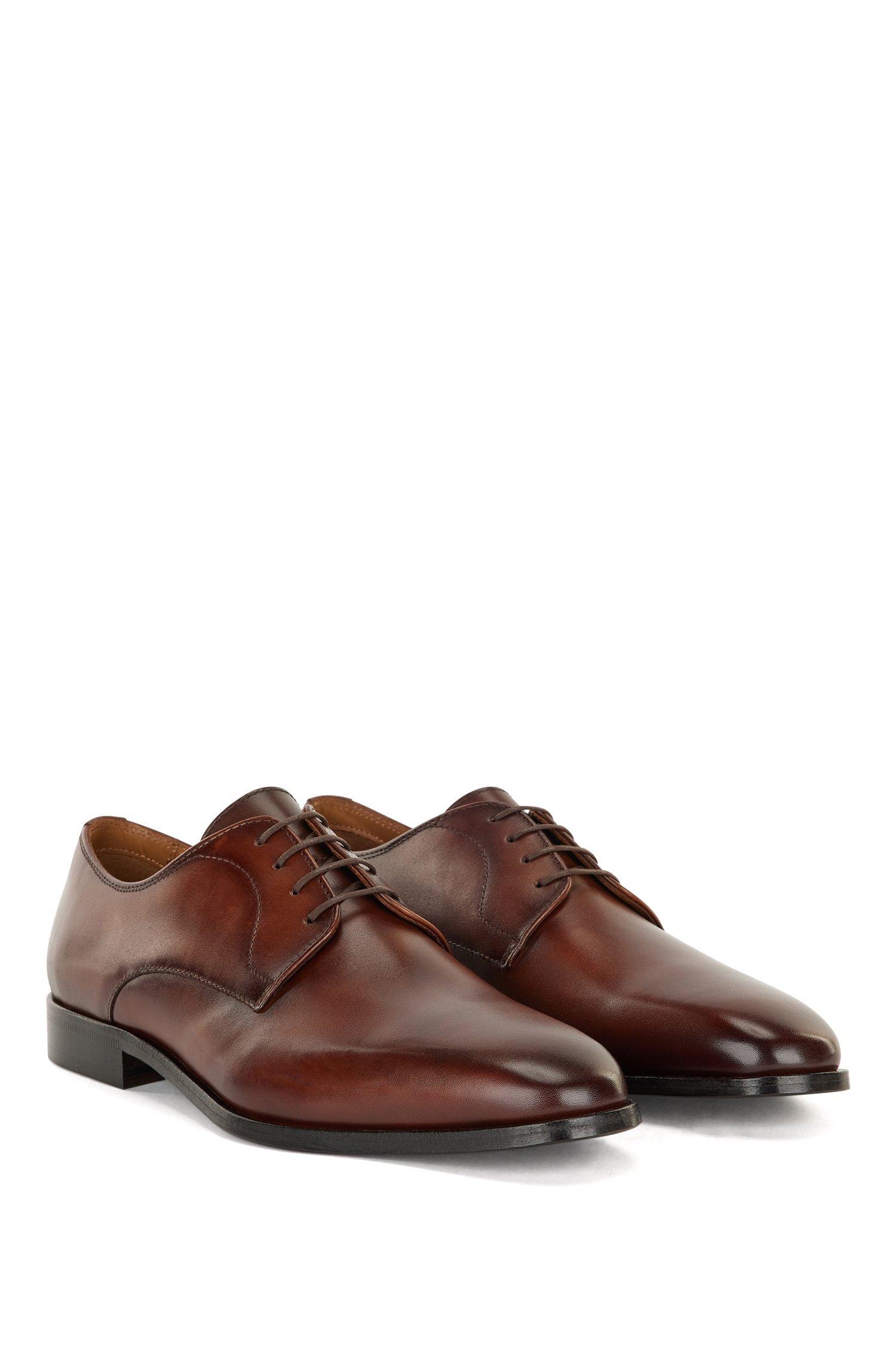 Hugo Boss Derby sko, brun, 44.5
