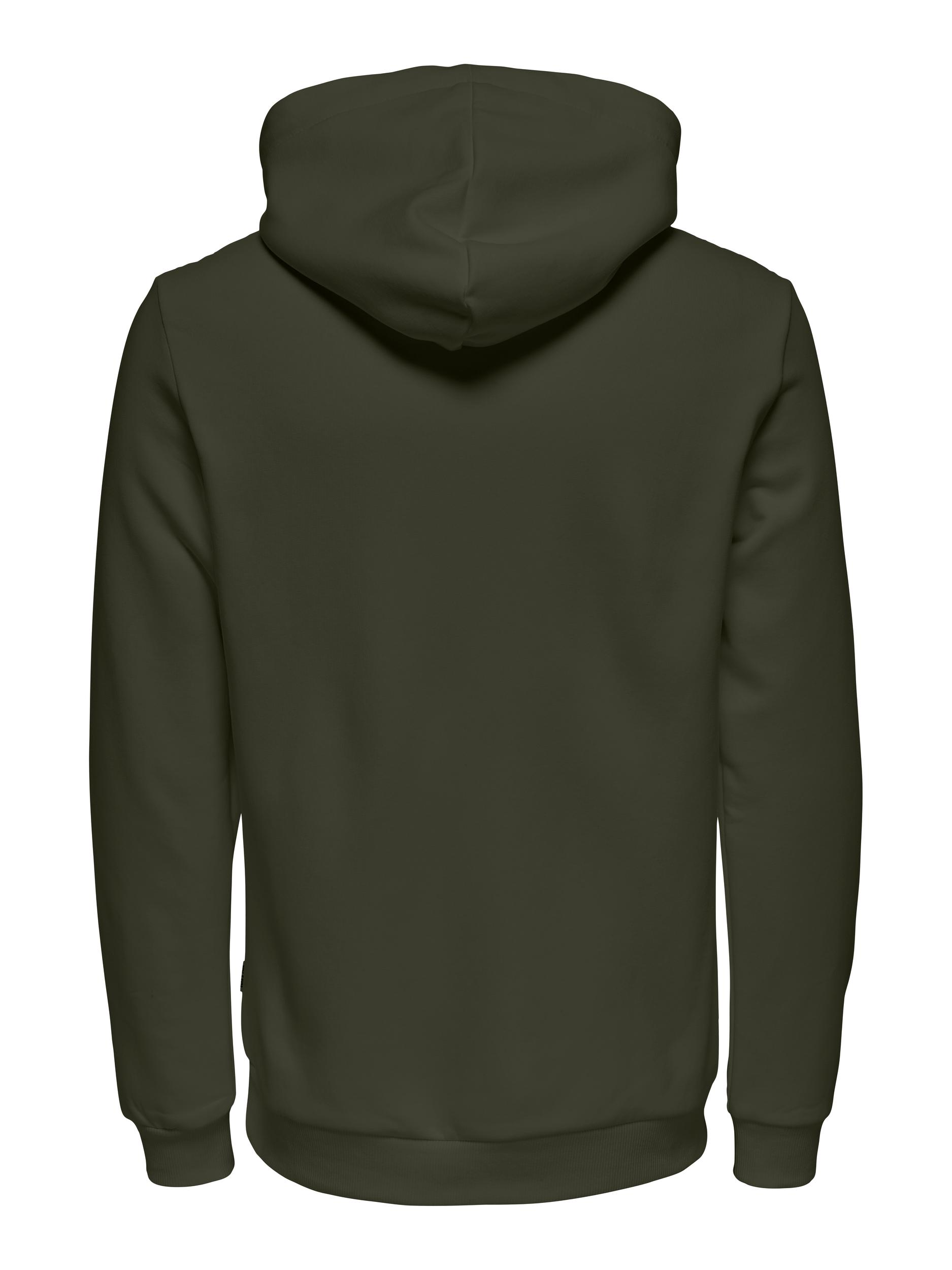 Only & Sons Ceres Life hoodie, forest night, xx-large
