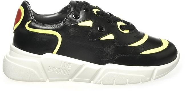 Love Moschino sneakers, black, 36