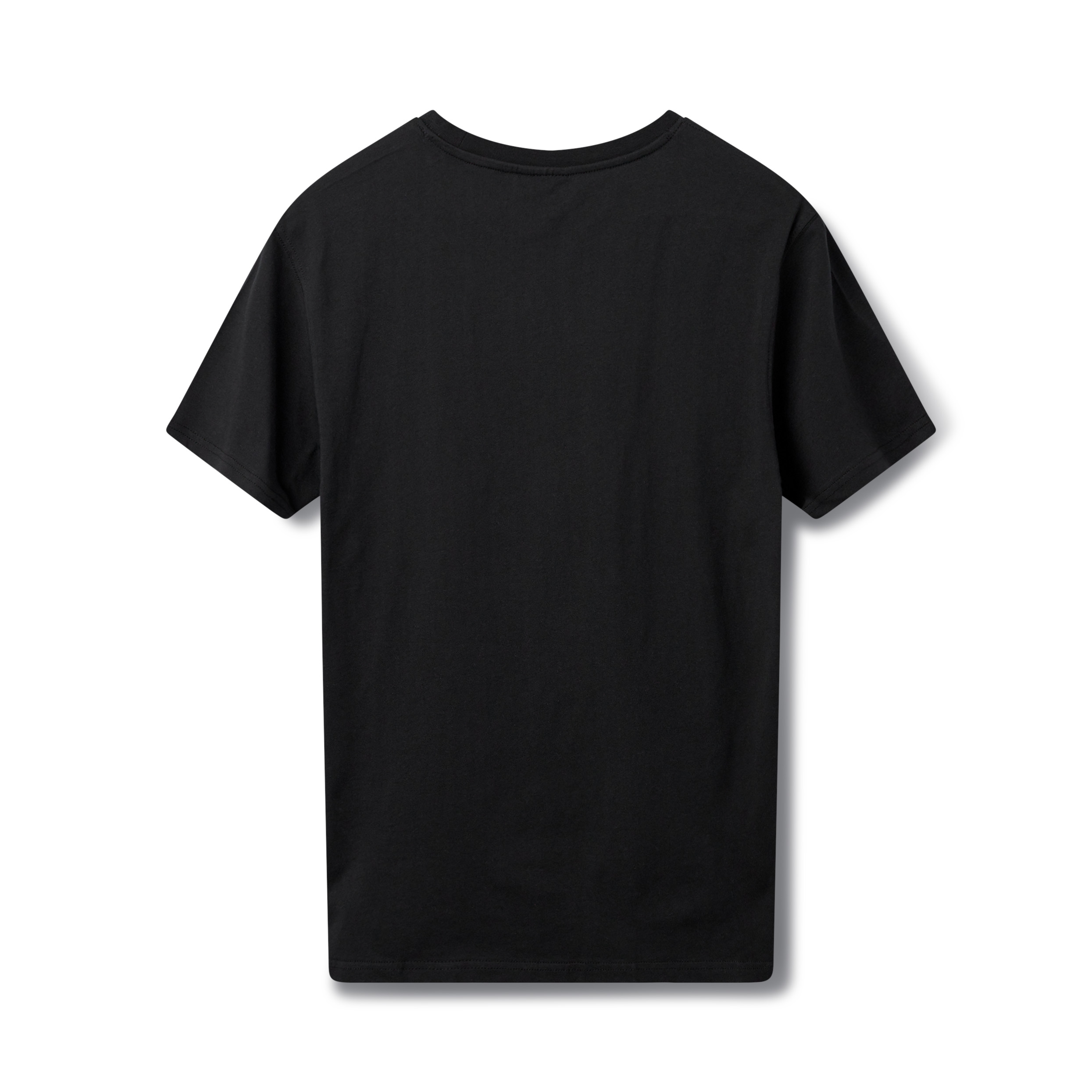 H2O Kilde t-shirt, black/purple, medium