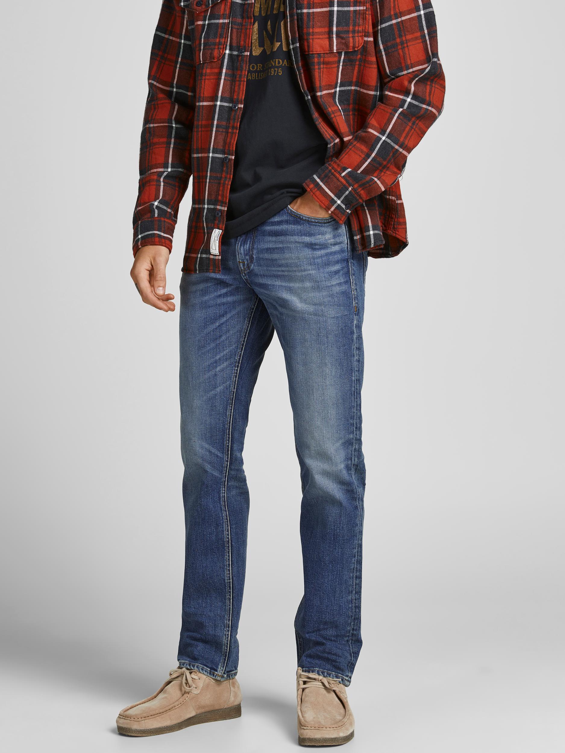 Jack & Jones Clark jeans, blue denim, 33/30