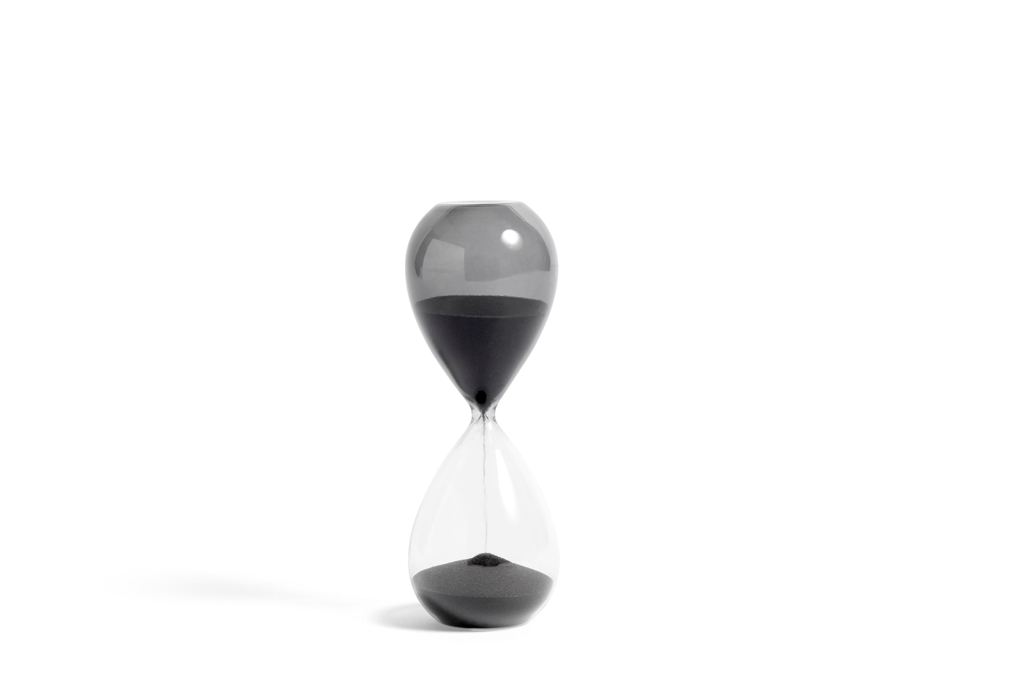 Hay timeglas 2 stk., Grå
