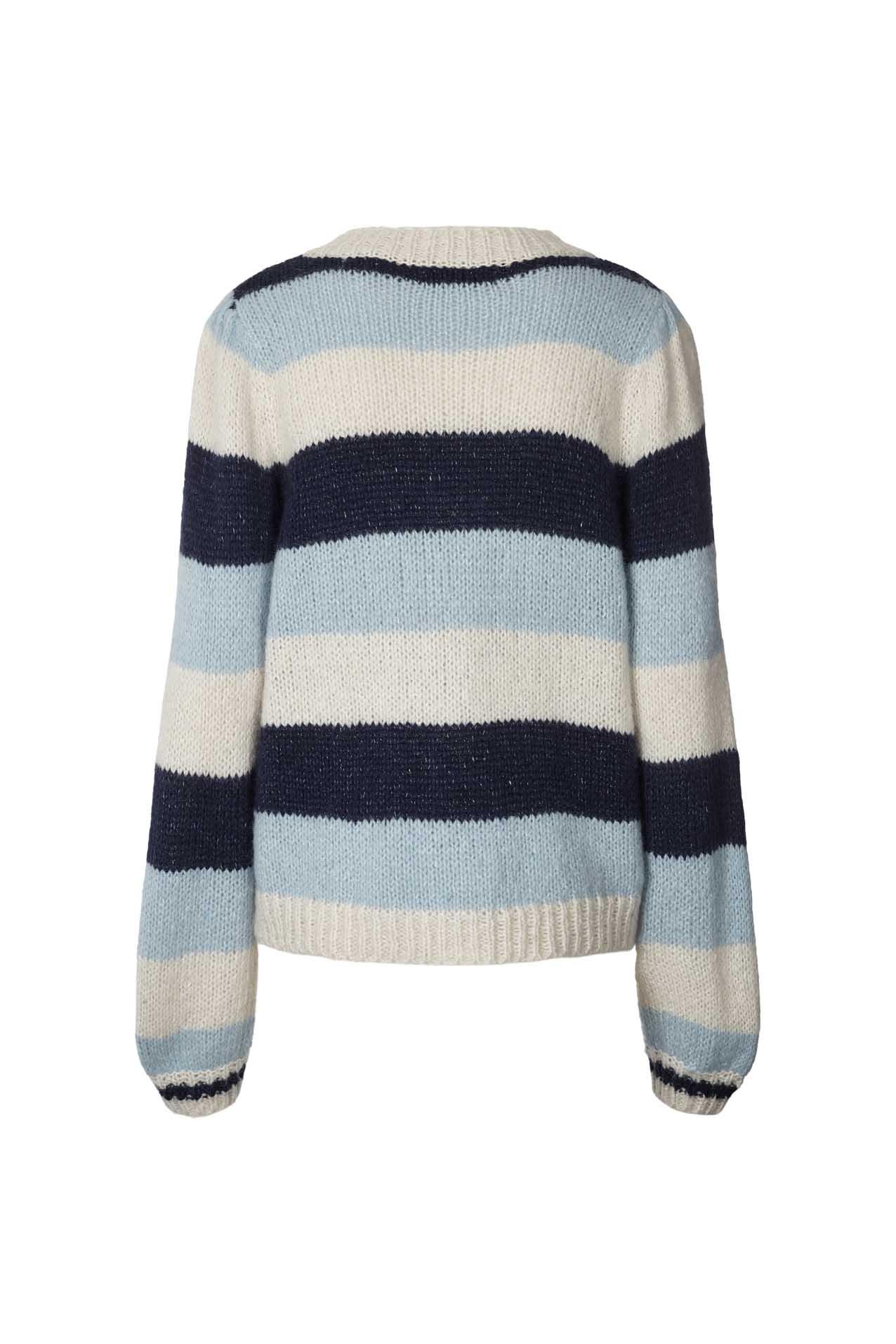 Lollys Laundry Pippa cardigan, blue, x-large