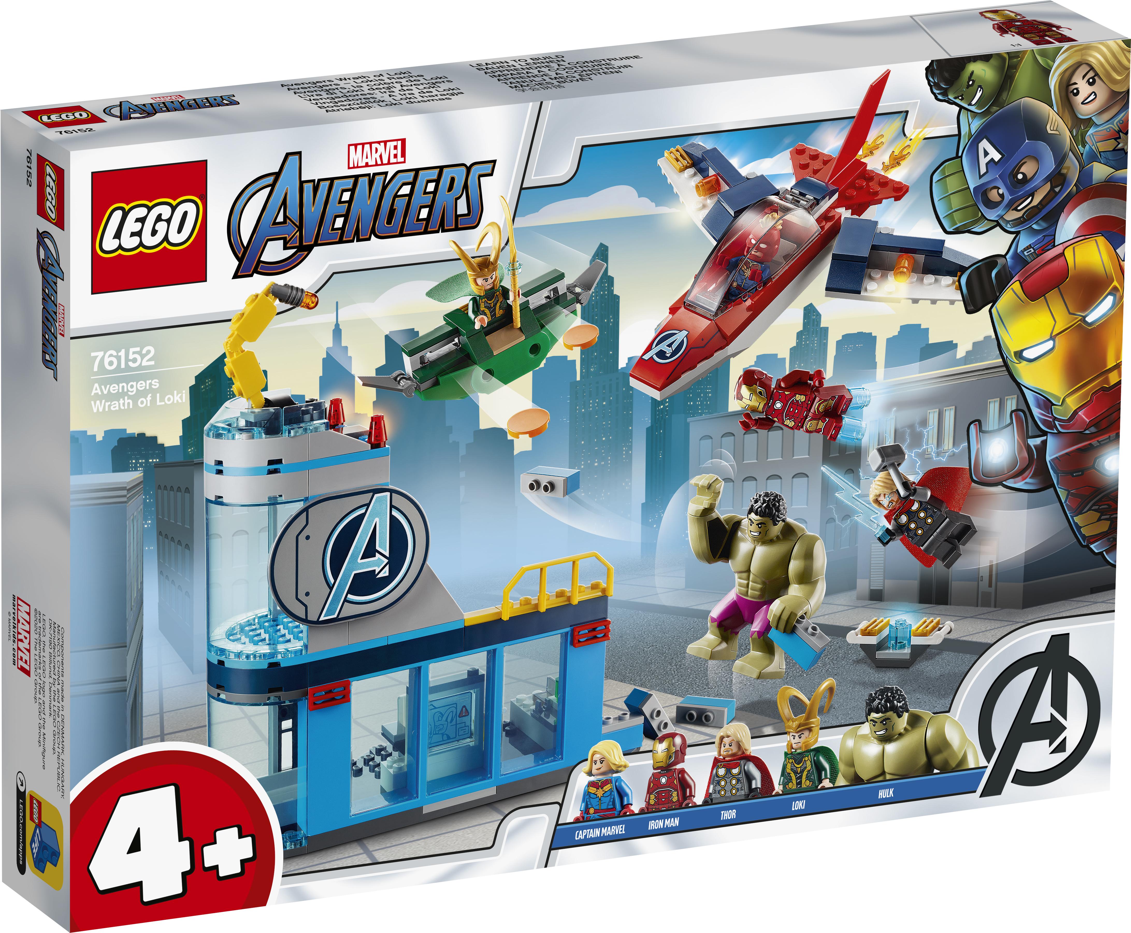 LEGO Super Hero Avengers - Lokes vrede - 76152