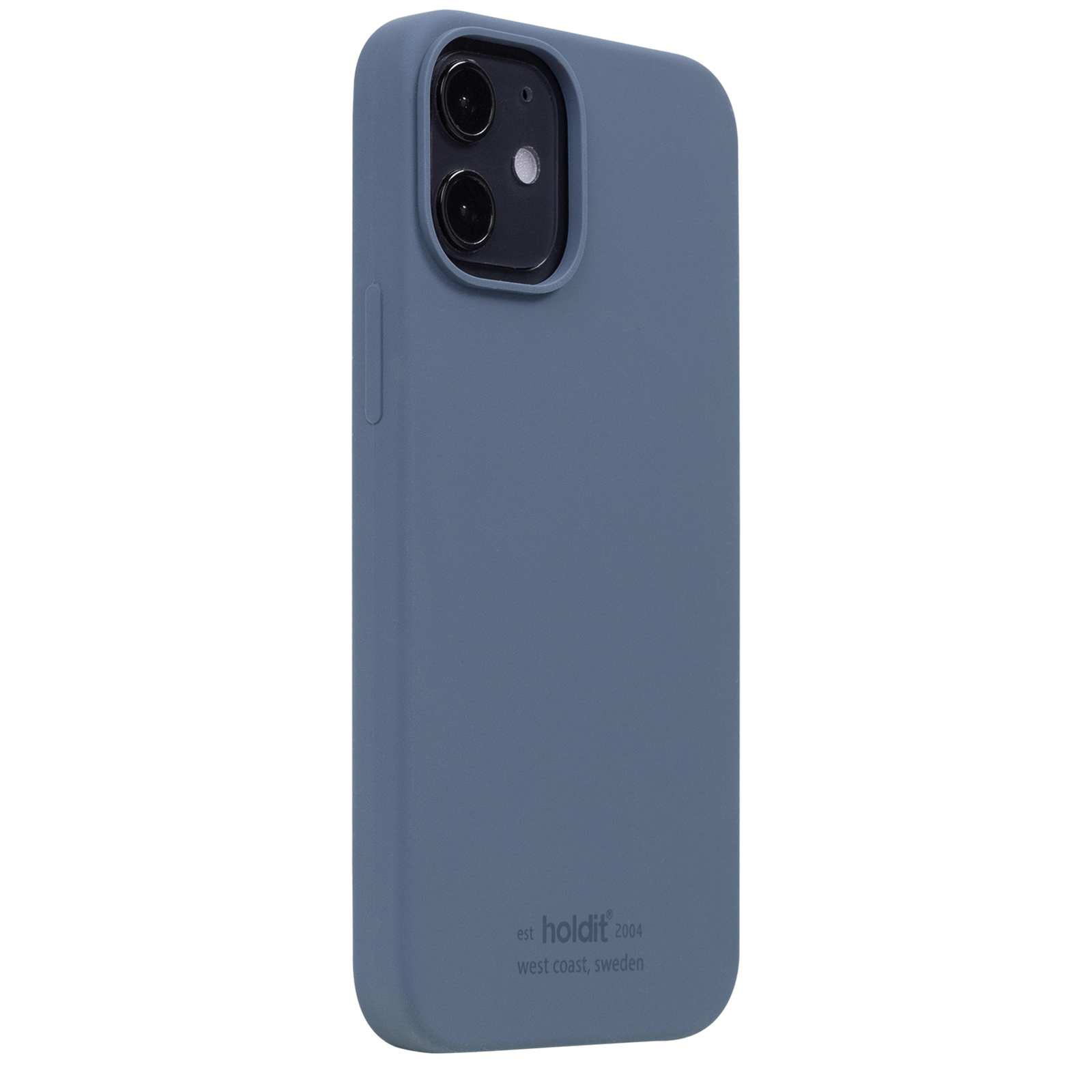 Holdit Mobilcover iPhone 12 Mini, pacific blue