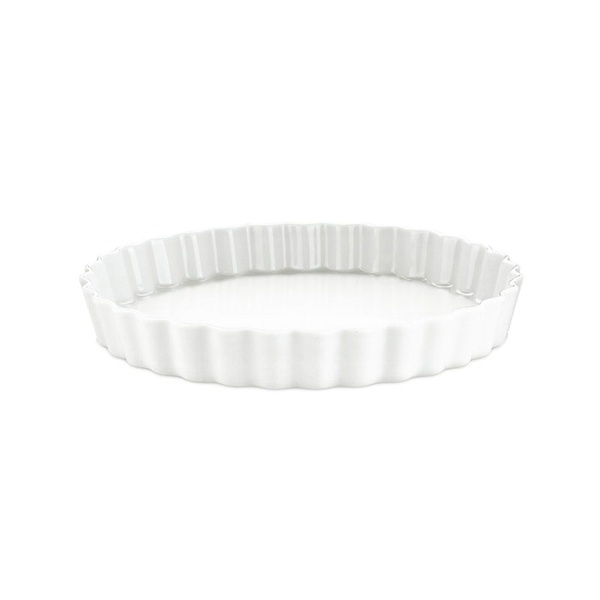 Pillivuyt tærteform nr. 8, Ø25 cm, hvid