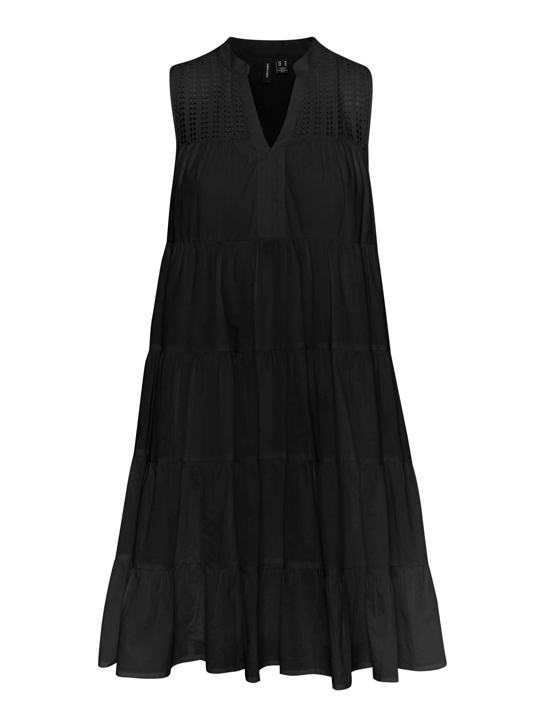 Vero Moda Loretta kjole, sort, medium