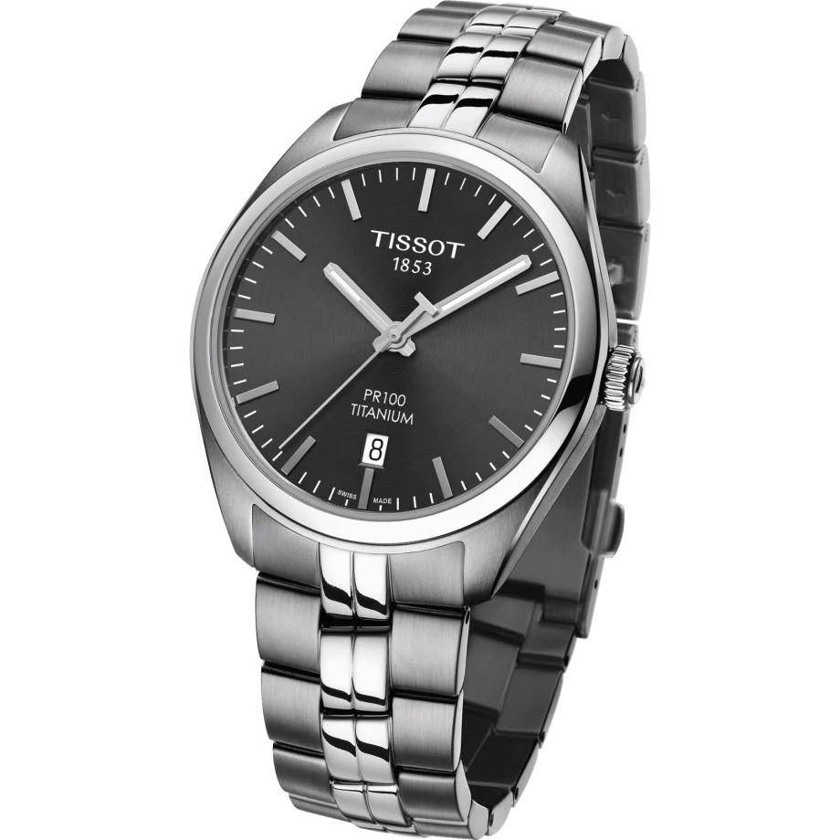 Tissot T1014104406100 PR100 Herreur, Titanium/Black