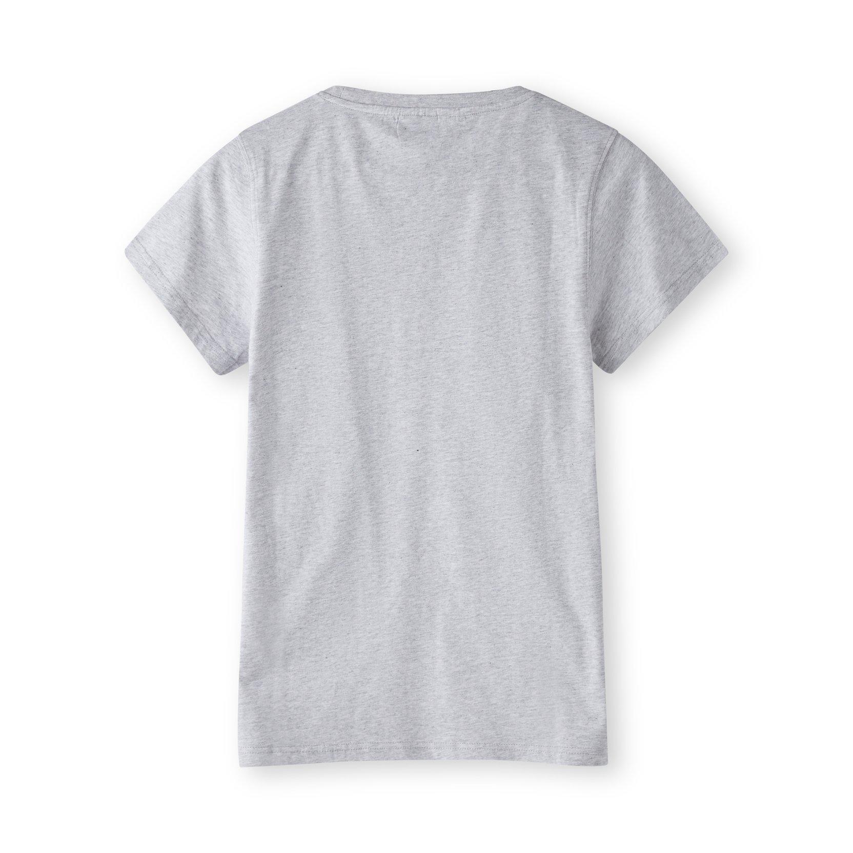 H2O Birkholm t-shirt, light grey melange, small
