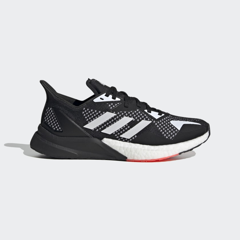 Adidas X9000L3 sko, core black/cloud white/glory grey, 36