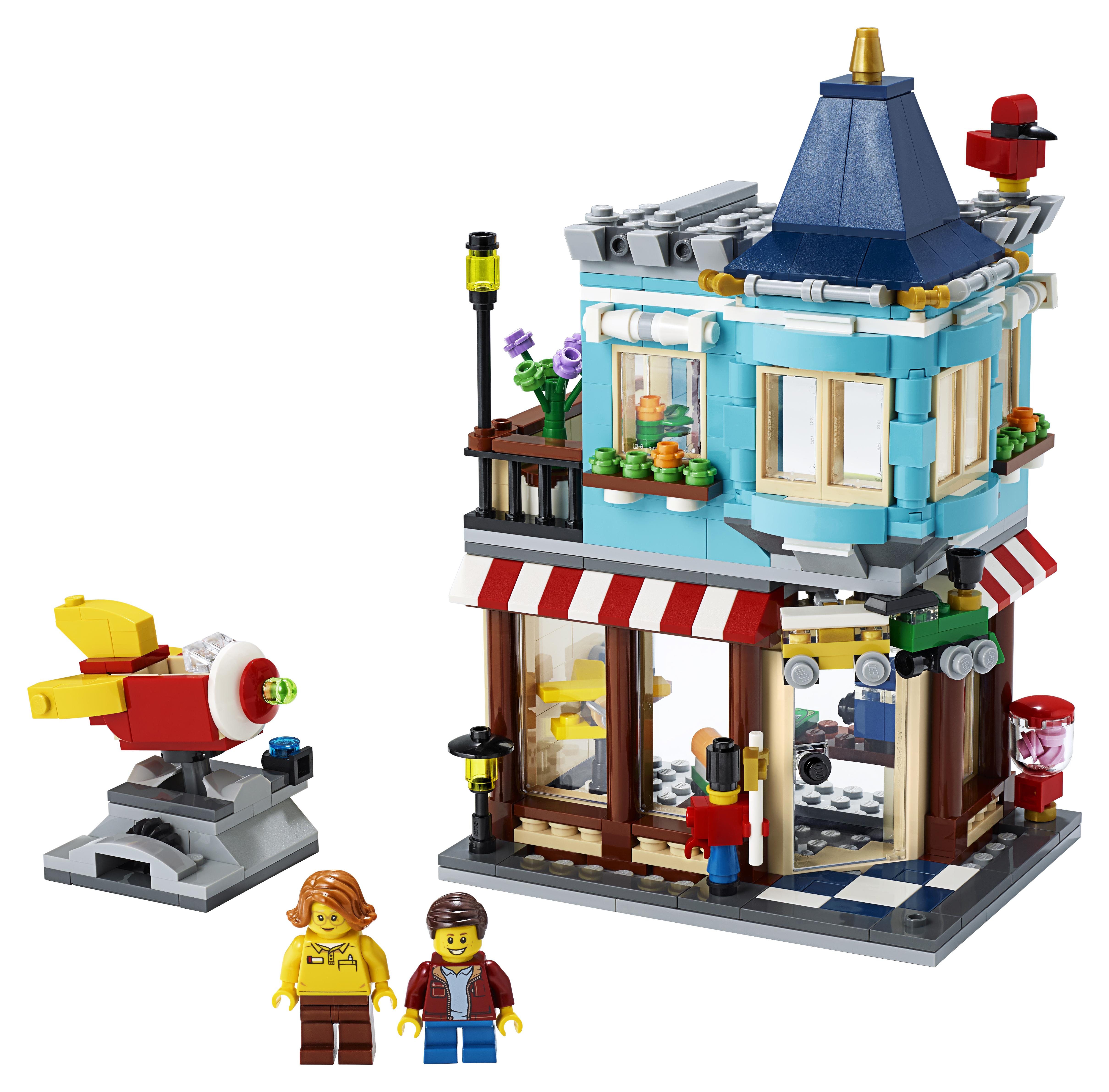 LEGO Creator Byhus med legetøjsbutik - 31105