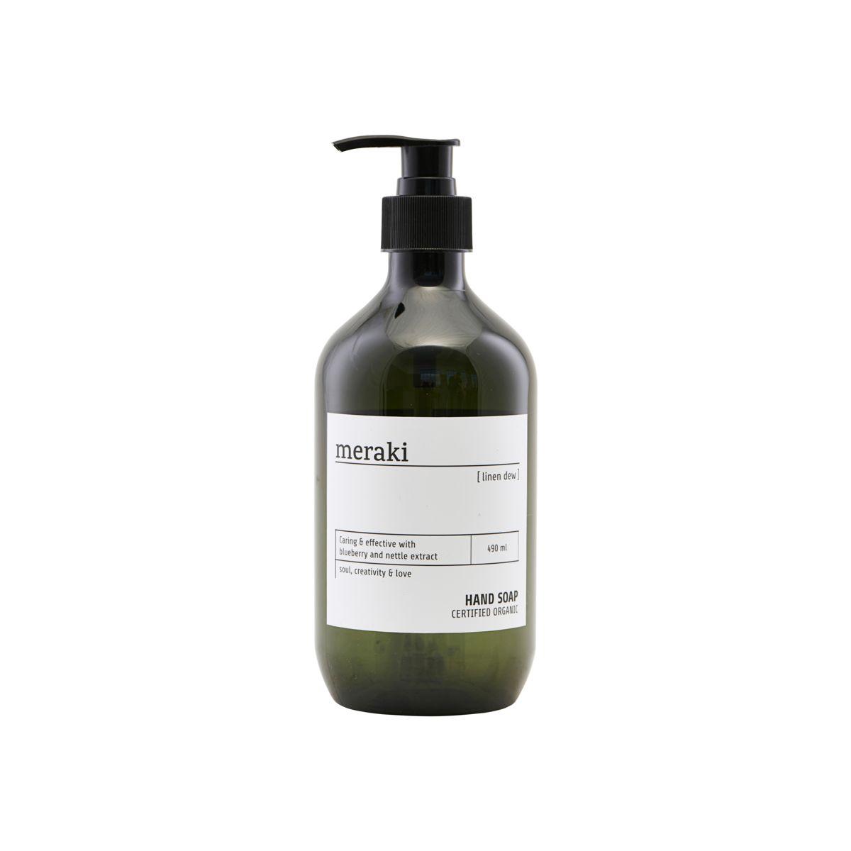 Meraki Linen Dew Hand Soap, 490 ml