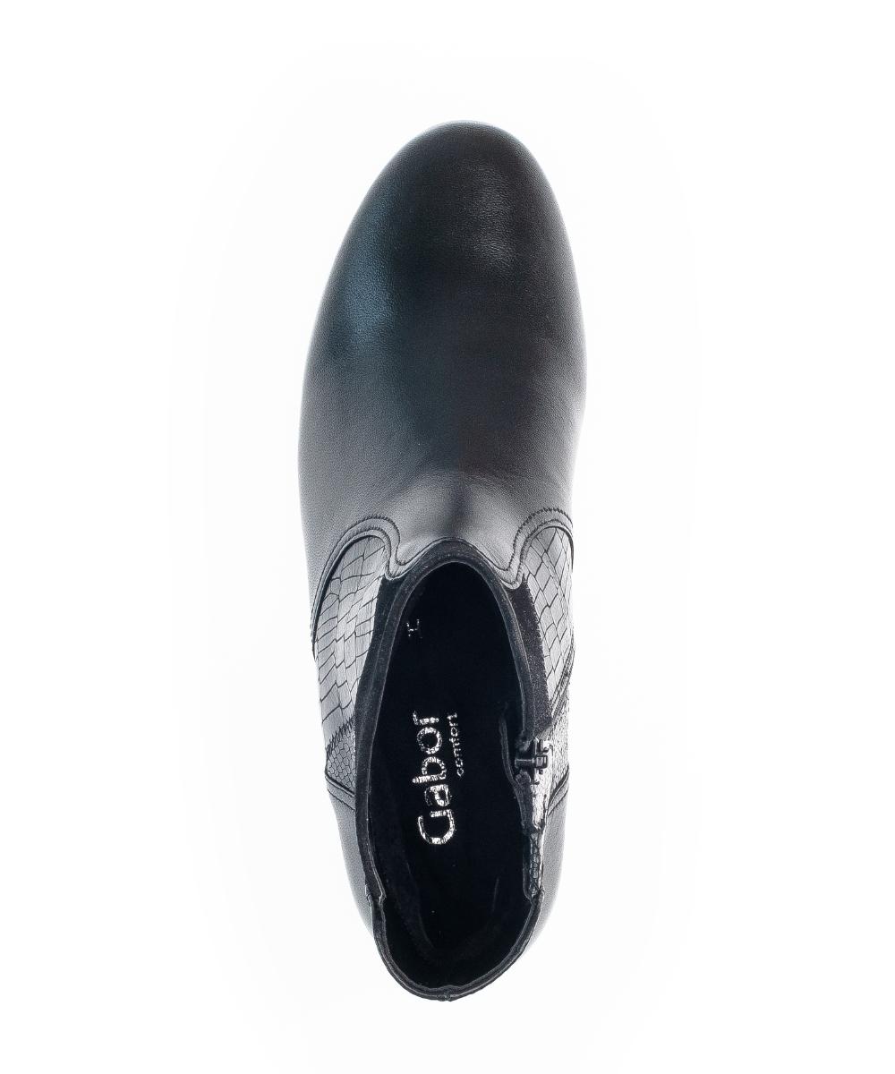 Gabor 72.713.57 ankelstøvler, black, 40.5