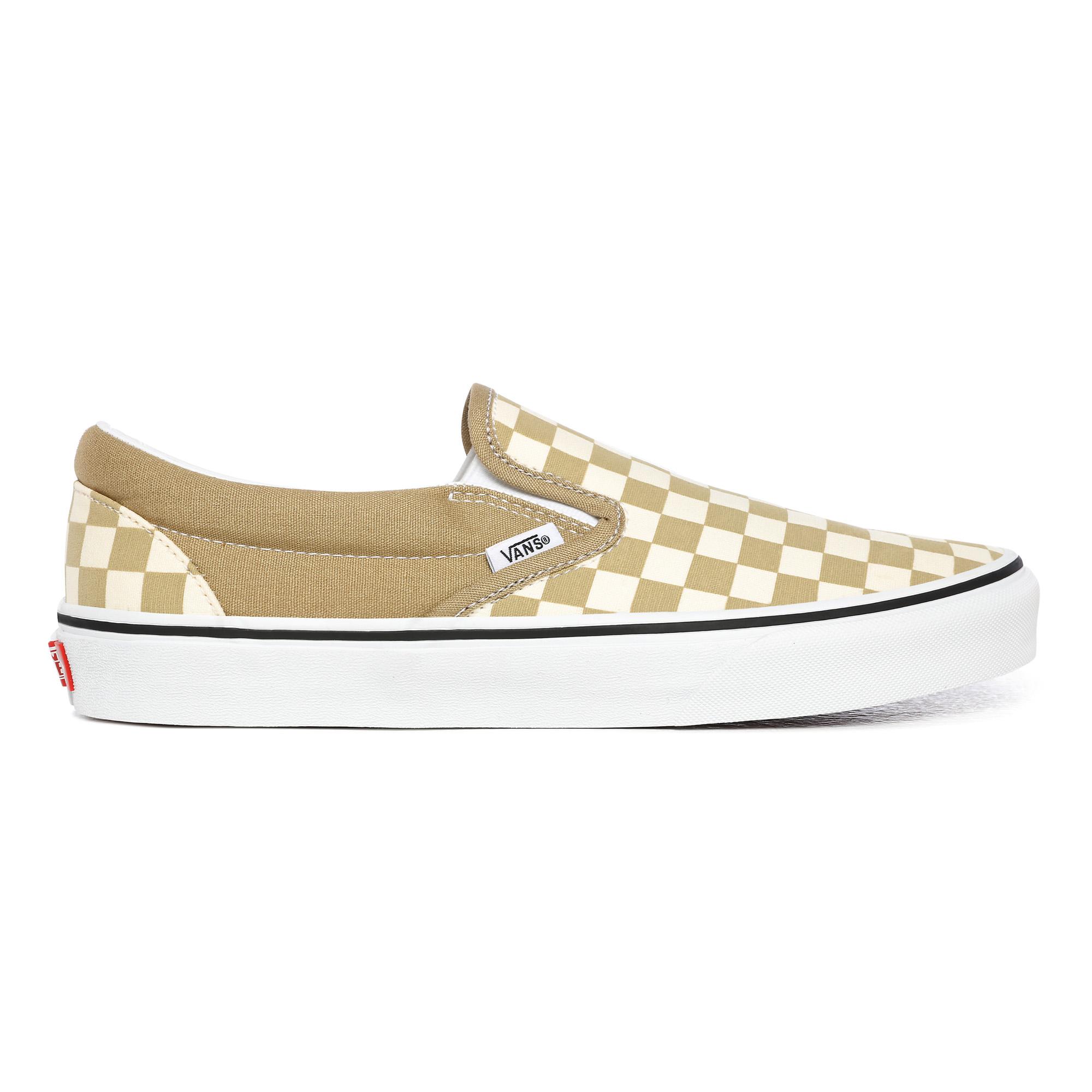Vans Checkerboard Classic Slip-On sneakers, corn, 46