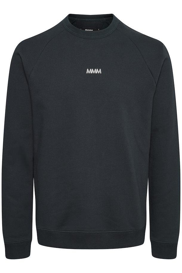 Matinique Logo Sweatshirt, Dark Navy, Small