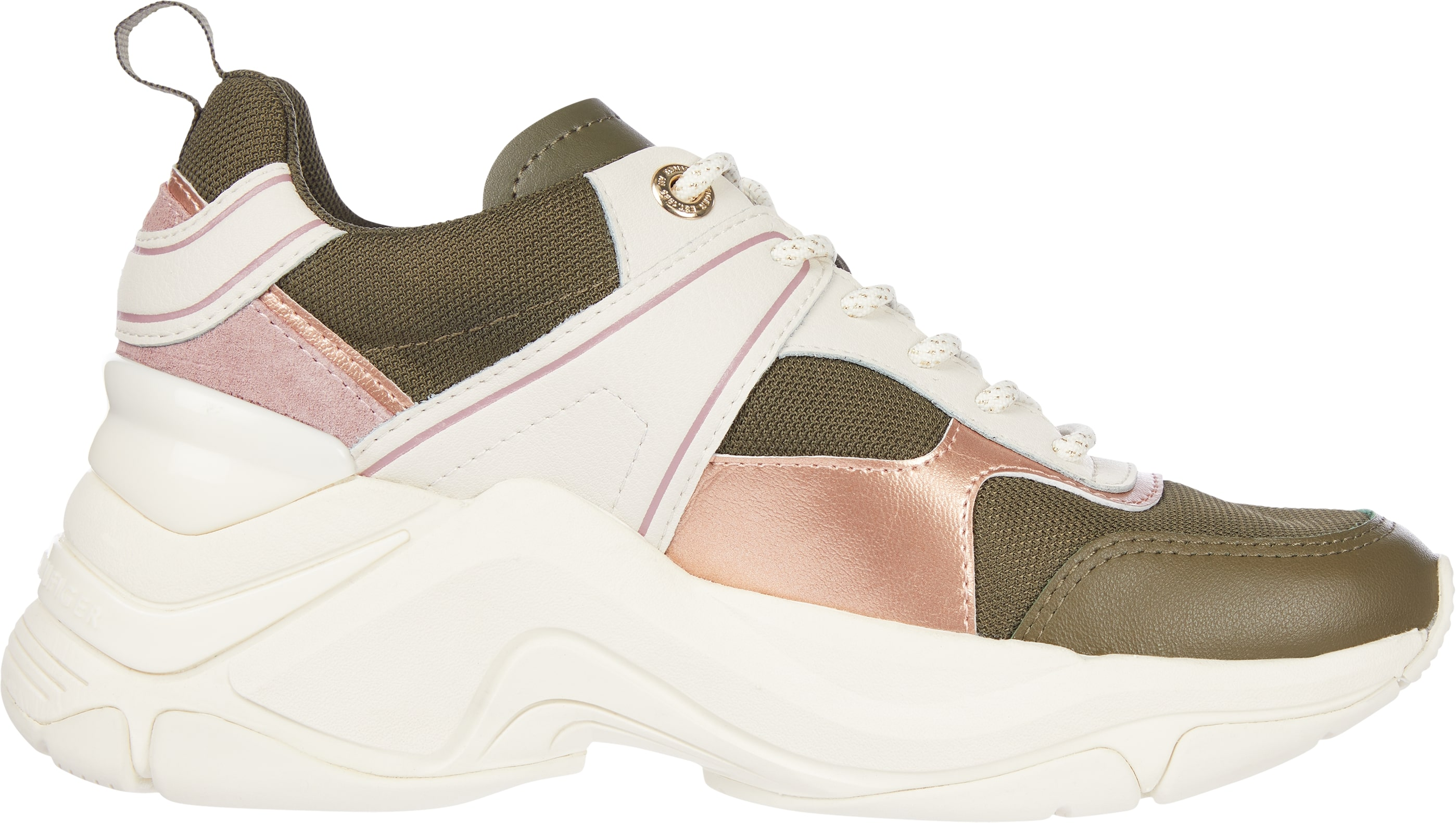 Tommy Hilfiger Fashion Wedge sneakers, army green, 39