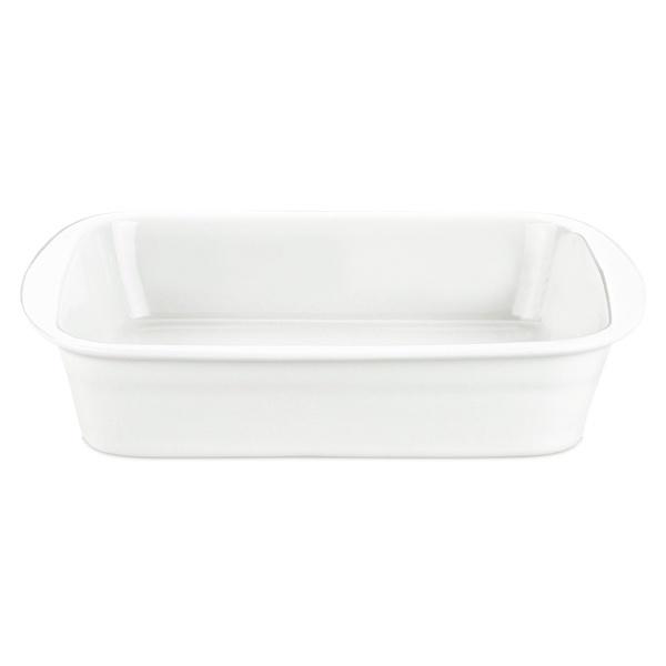 Pillivuyt lasagnefad, 24x29 cm, hvid