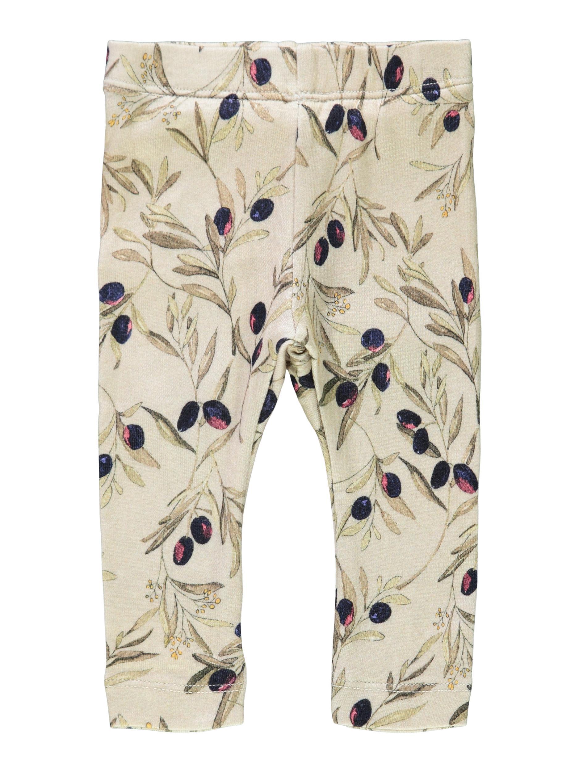 Name It Larisa leggings, Oatmeal, 80