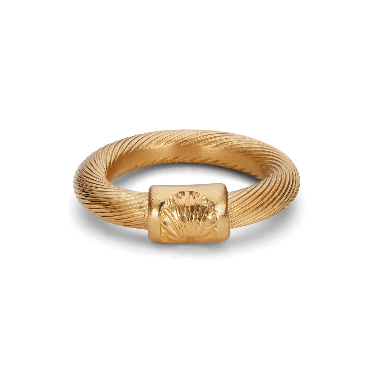 Jane Kønig Salon ring Big, guld, 52