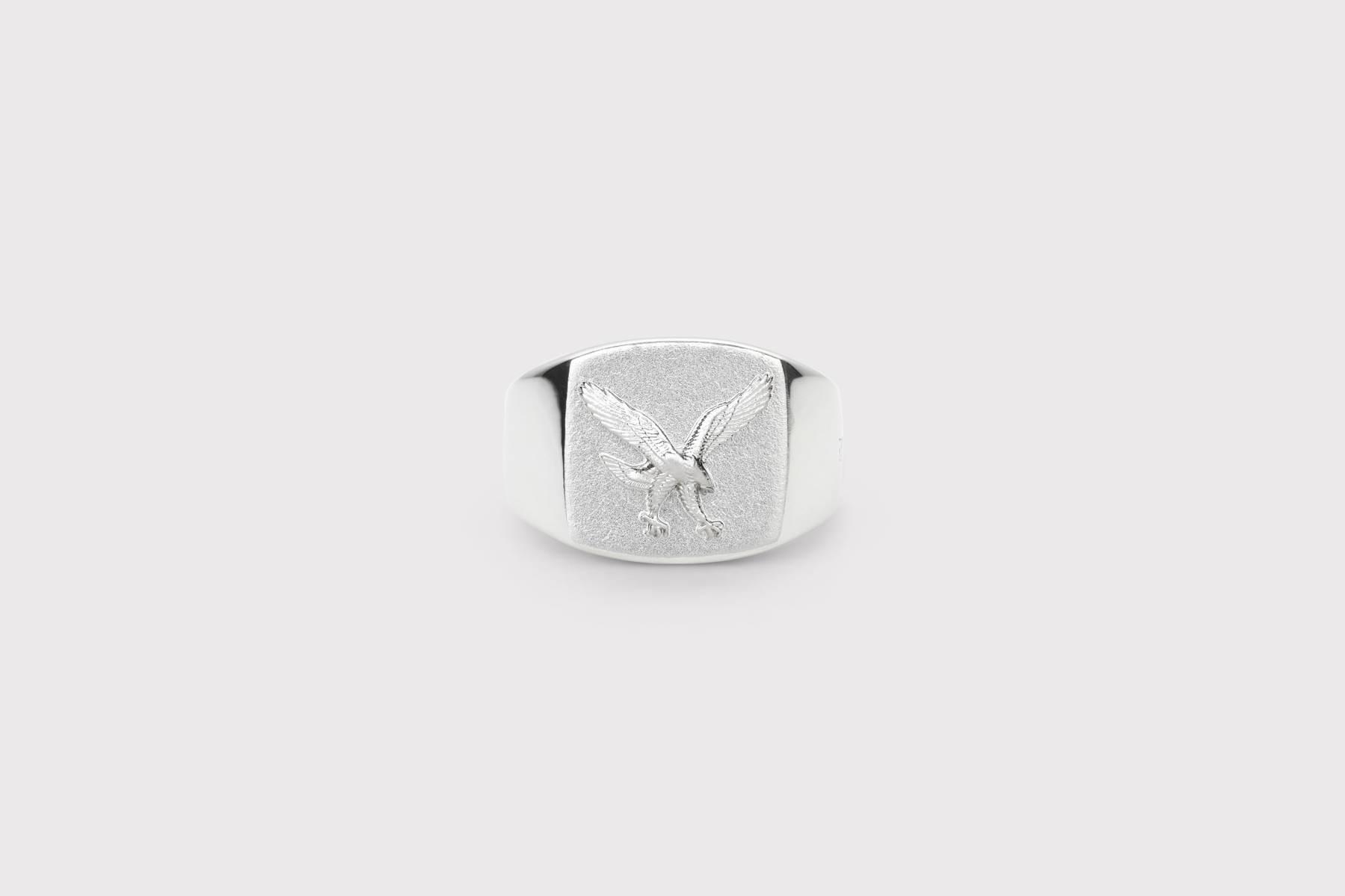 Frederik IX Studios Eagle Signet ring