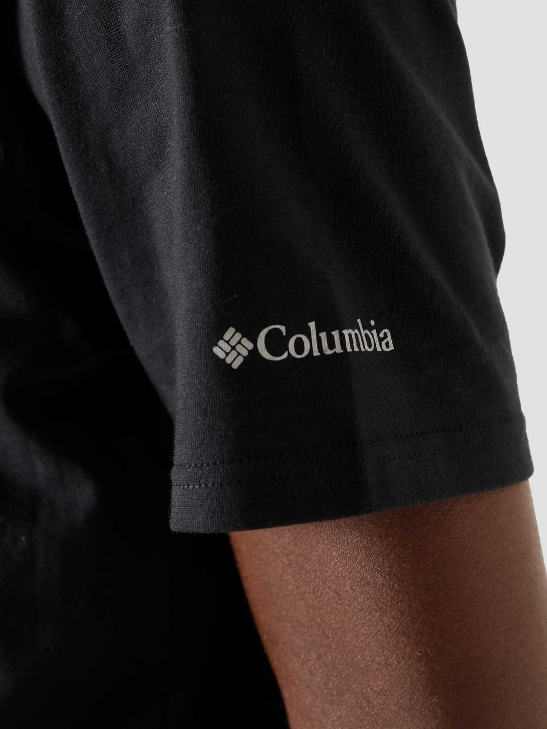 Columbia Basic Logo t-shirt, black, small