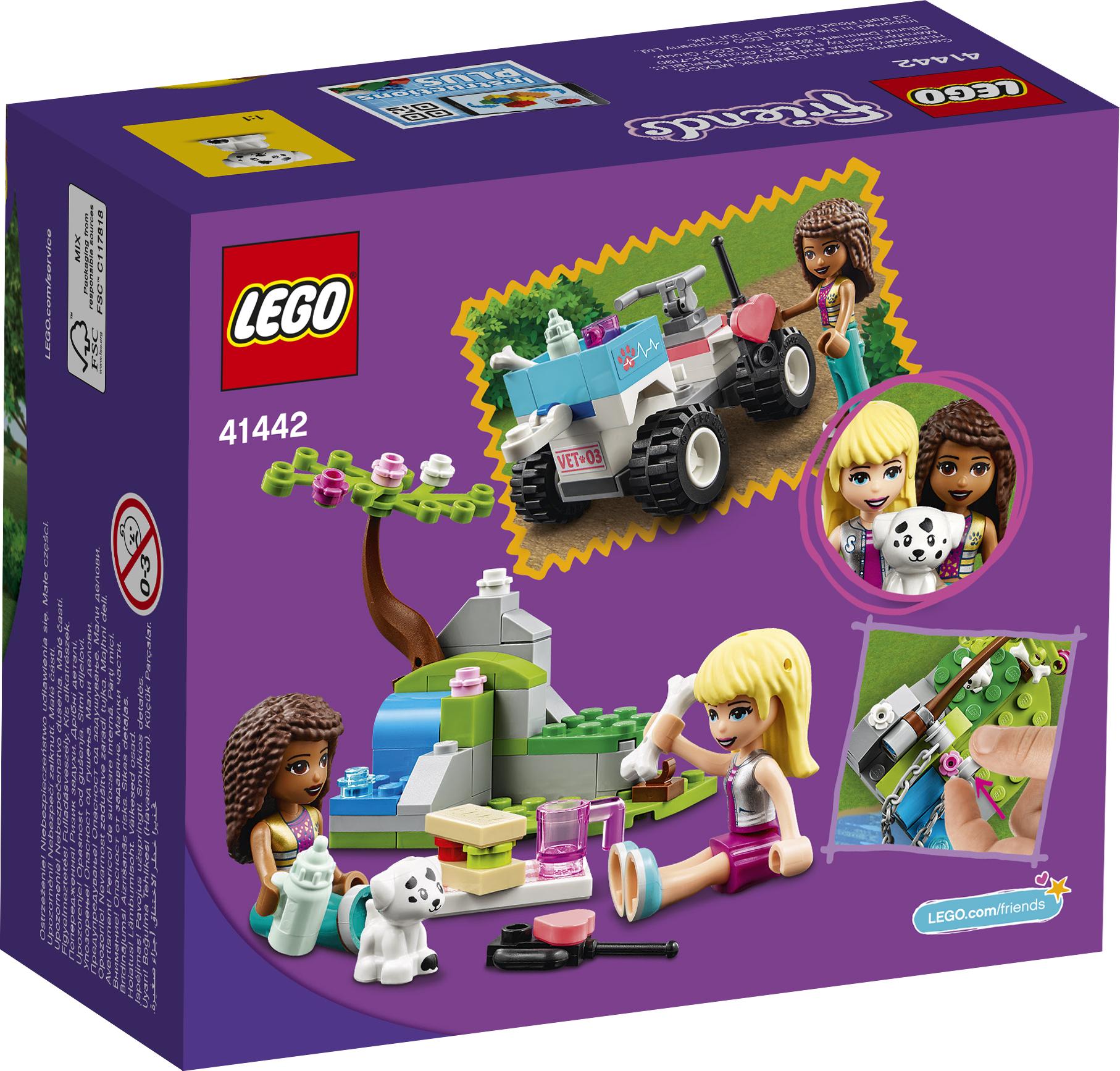 LEGO Friends Dyrlægeklinikkens redningsbuggy - 41442