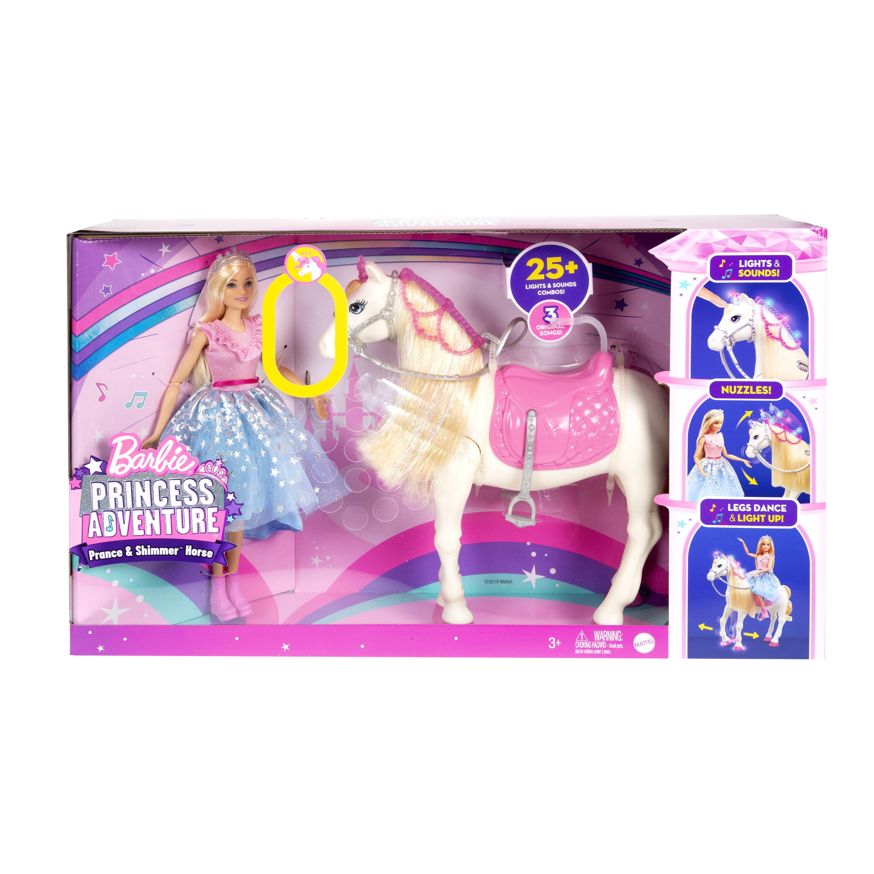 Barbie Moderne Prinsesse Hest