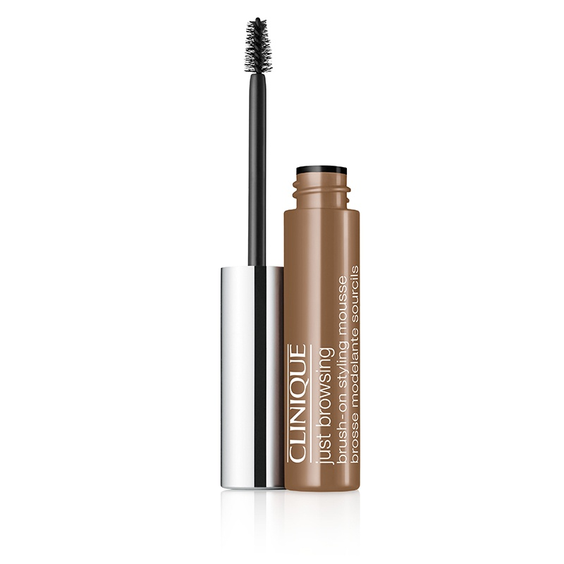 Clinique Just Browsing Brush-On Styling Mousse, light brown