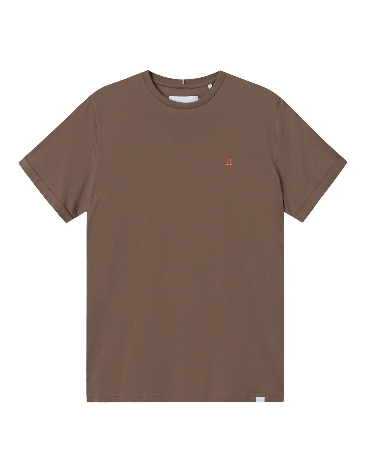 Les Deux Nørregaard t-shirt, mountain grey/orange, small