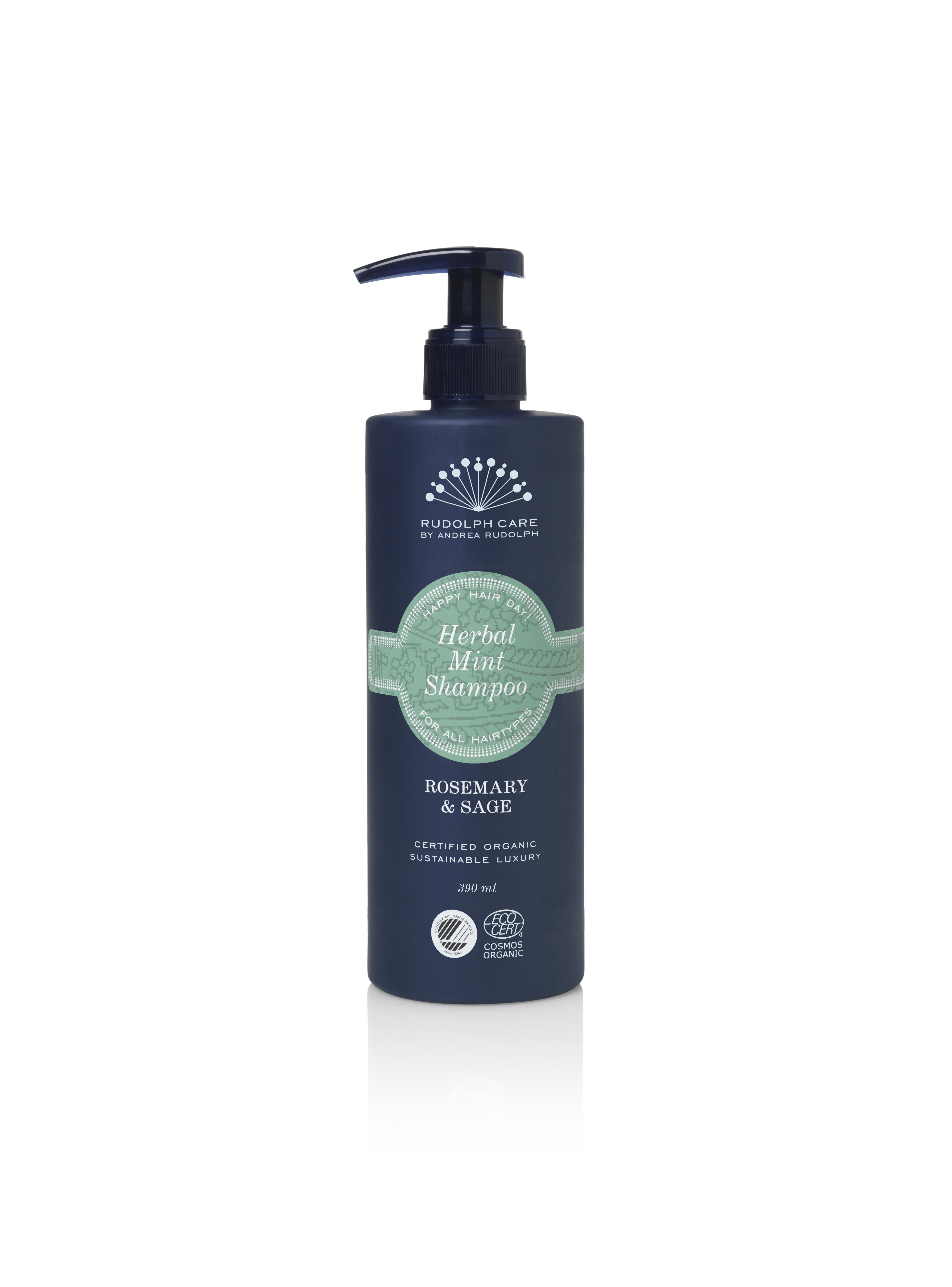 Rudolph Care Herbal Mint Shampoo, 390 ml