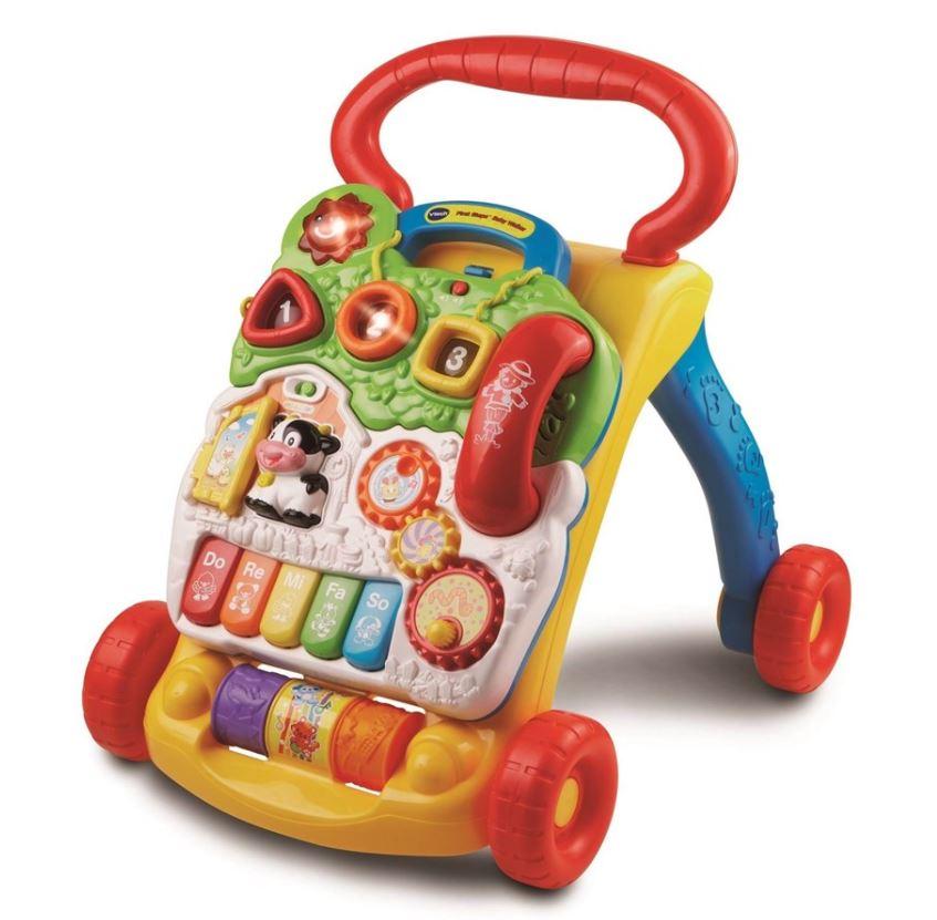 Vtech Barnets Første Gåvogn