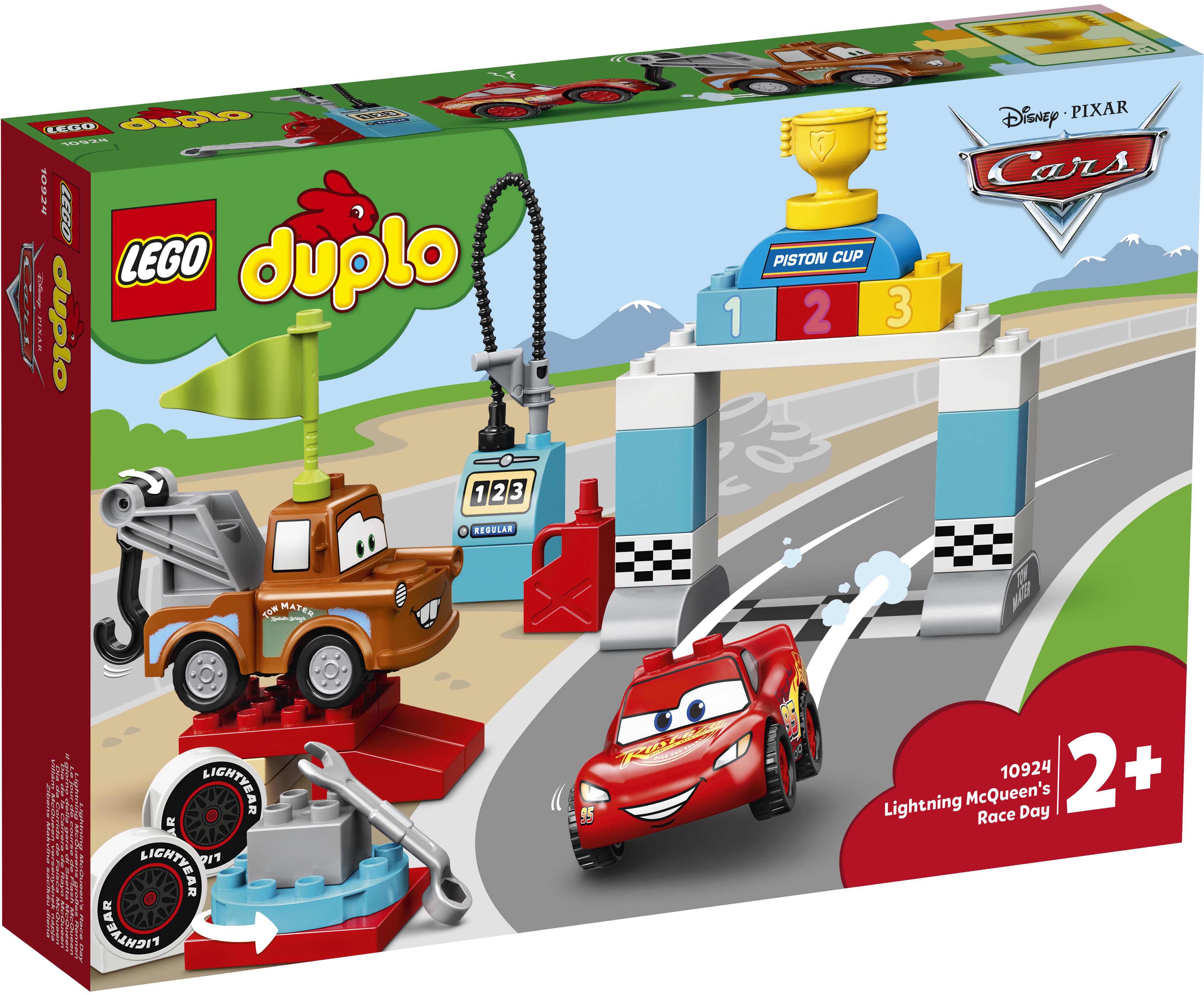 LEGO DUPLO Lynet McQueens racerløbsdag - 10924