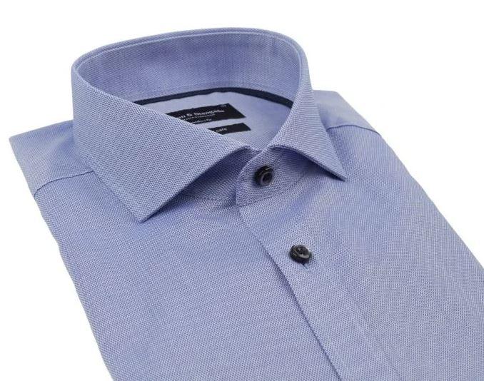 Bruun & Stengade Origi Modern Fit skjorte, blue, 45