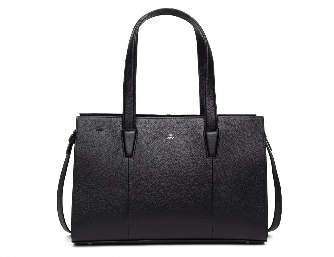 Adax Aline cormorano håndtaske, sort