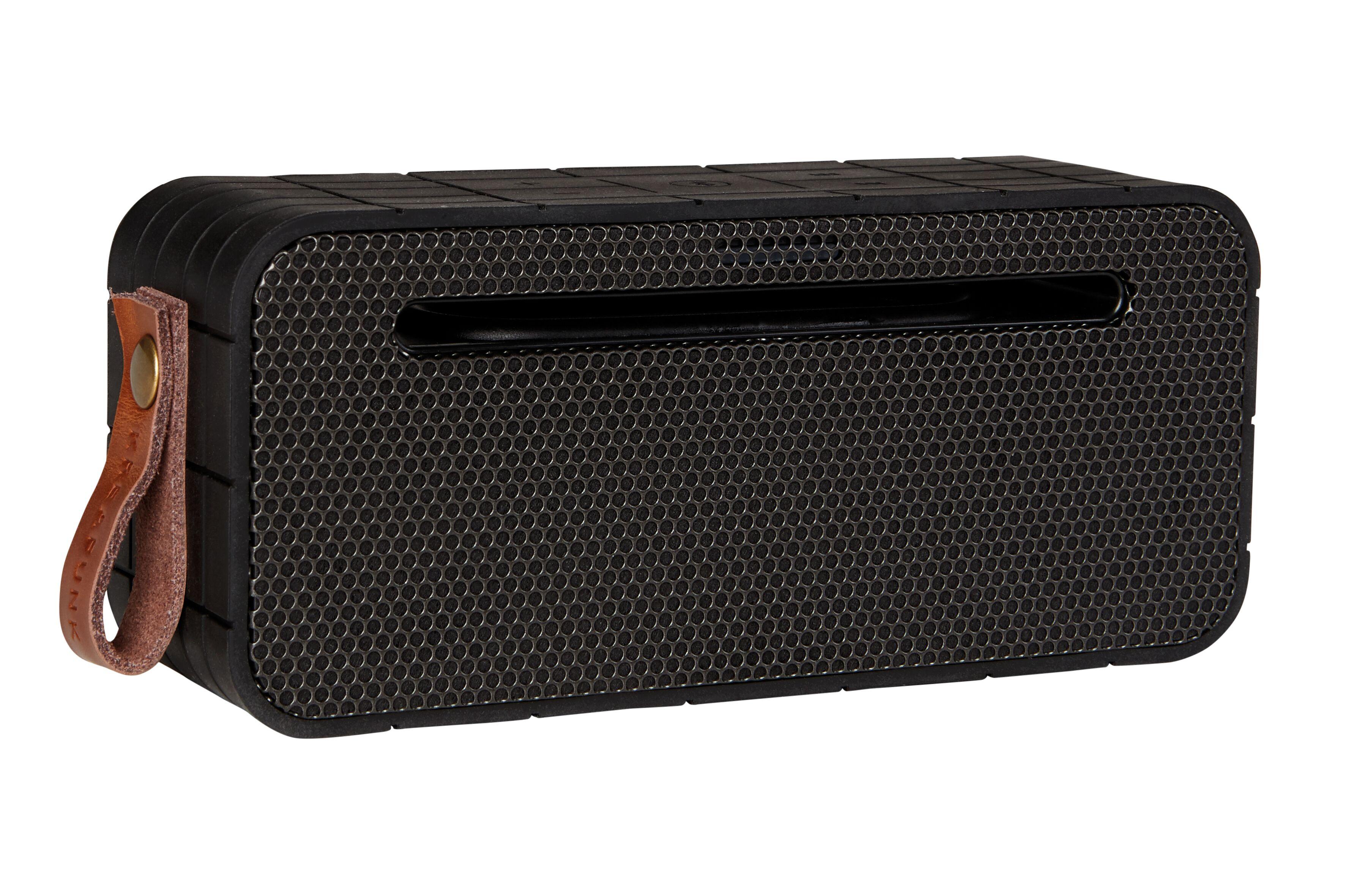 Kreafunk aMOVE bluetooth højtaler med powerbank, black