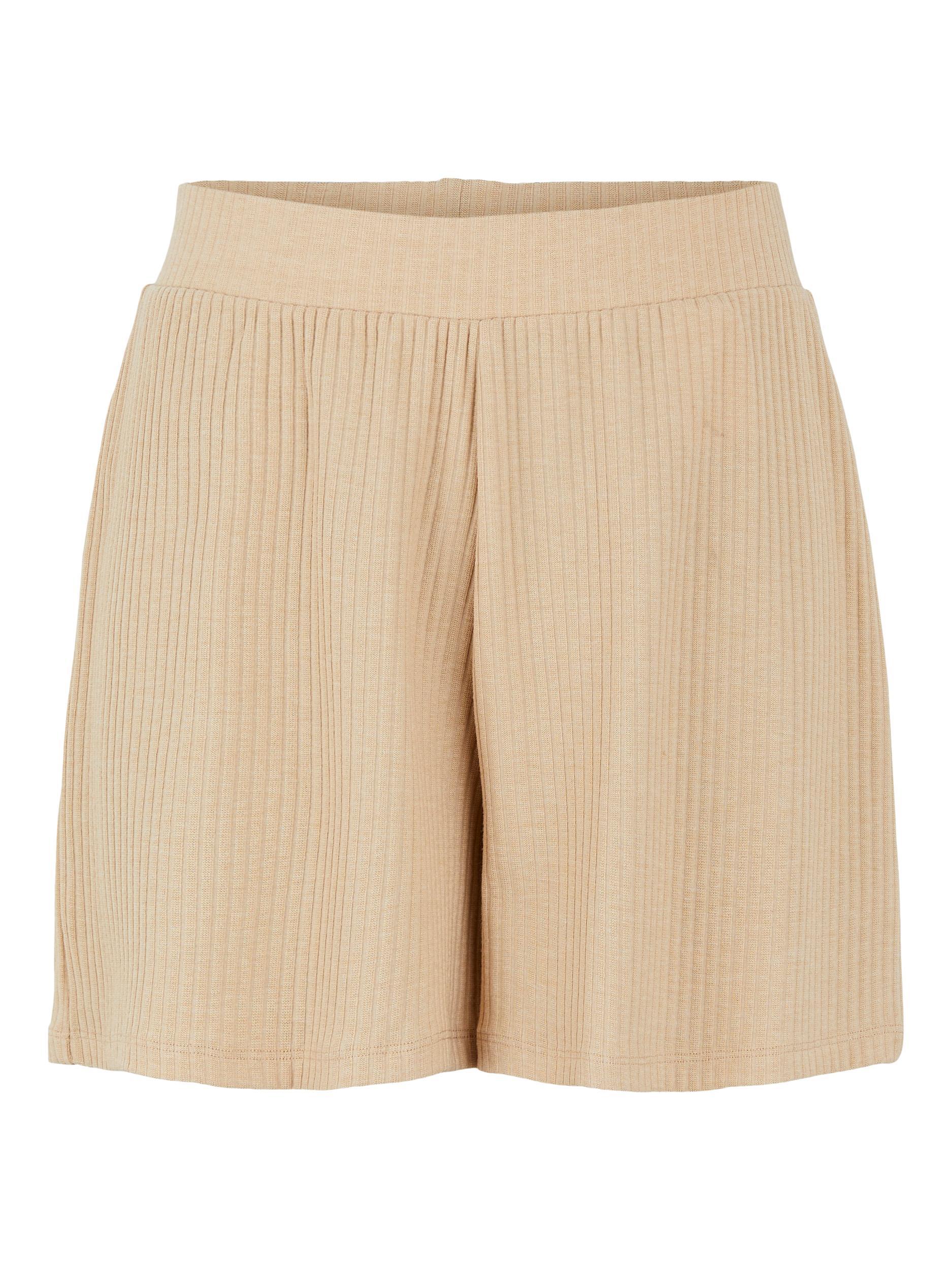 Pieces Ribbi shorts, cuban sand, medium