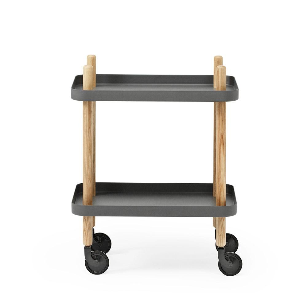Normann Block table, 64 cm, grå