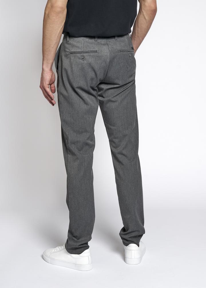 Woodbird Steffen Twill bukser, light grey, 29/short