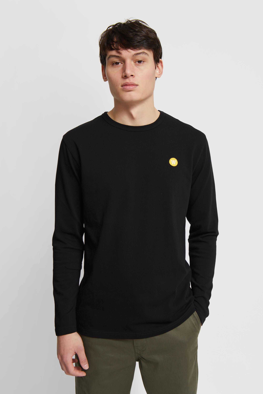 Wood Wood Double A Mel L/S t-shirt, black, small