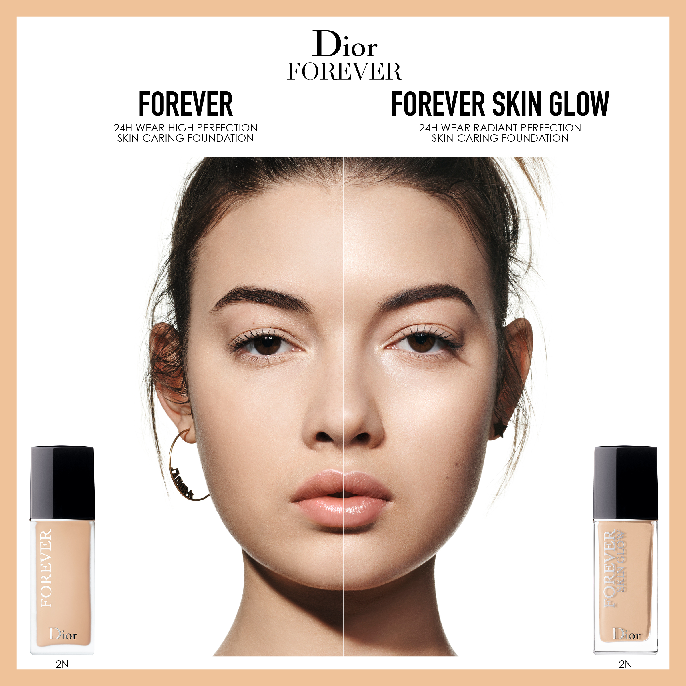 DIOR Forever Skin Glow Foundation, 2.5 Neutral