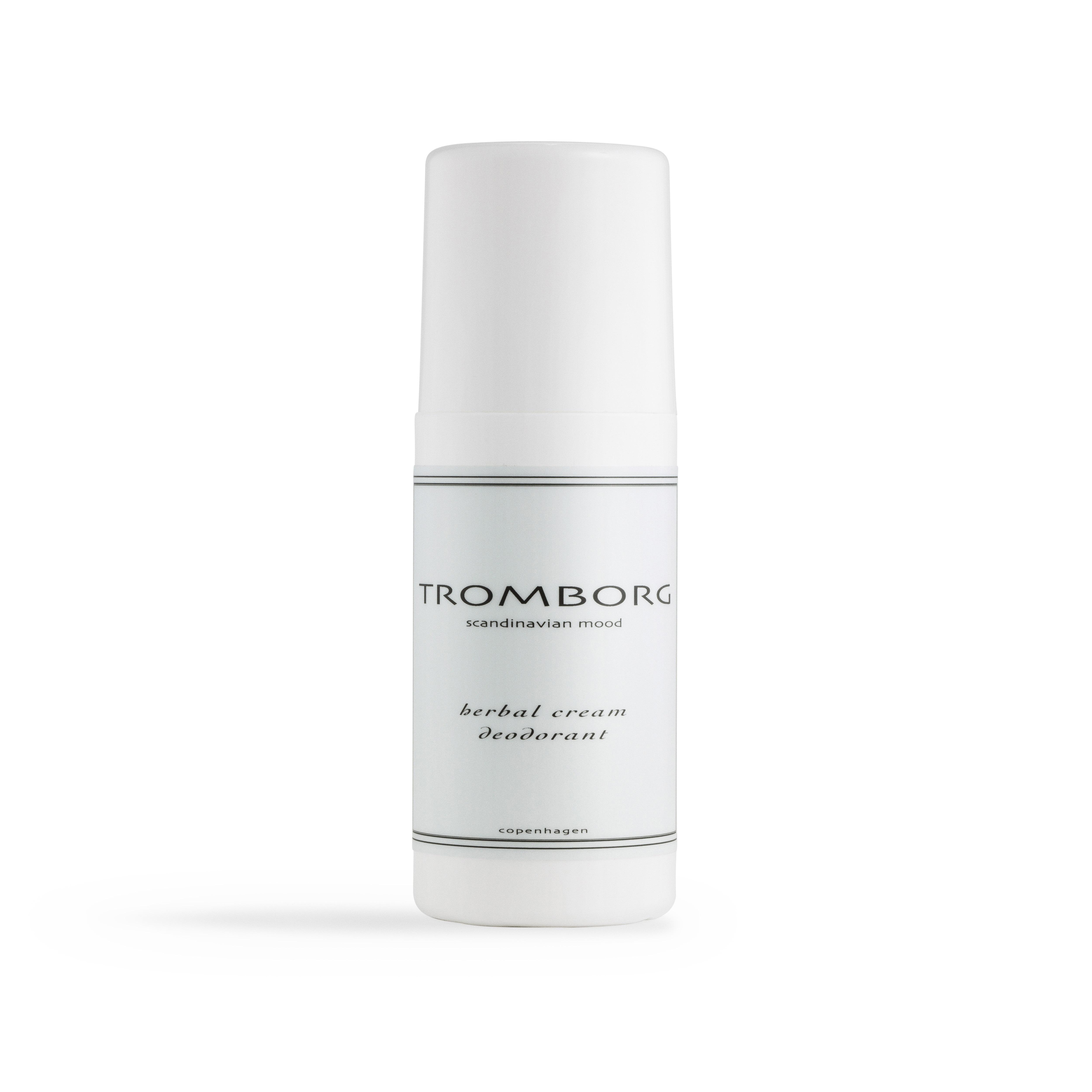 Tromborg Herbal Cream Deodorant, 60 ml