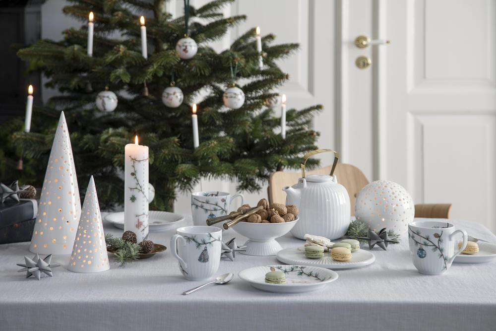 Kähler Hammershøi Jul bonbonniere, Ø11,5 cm