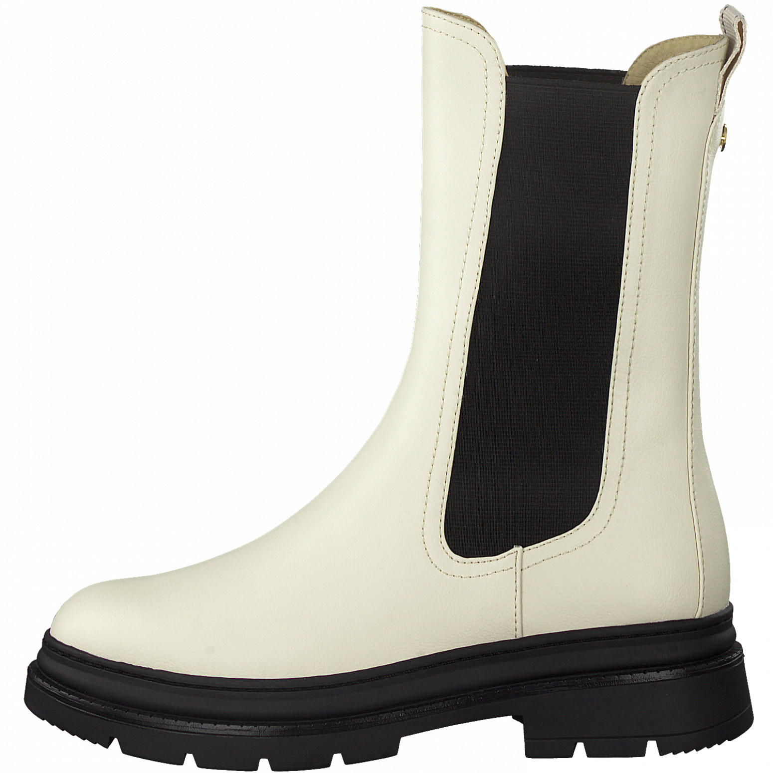 Tamaris 25452 støvle, ivory/black, 39