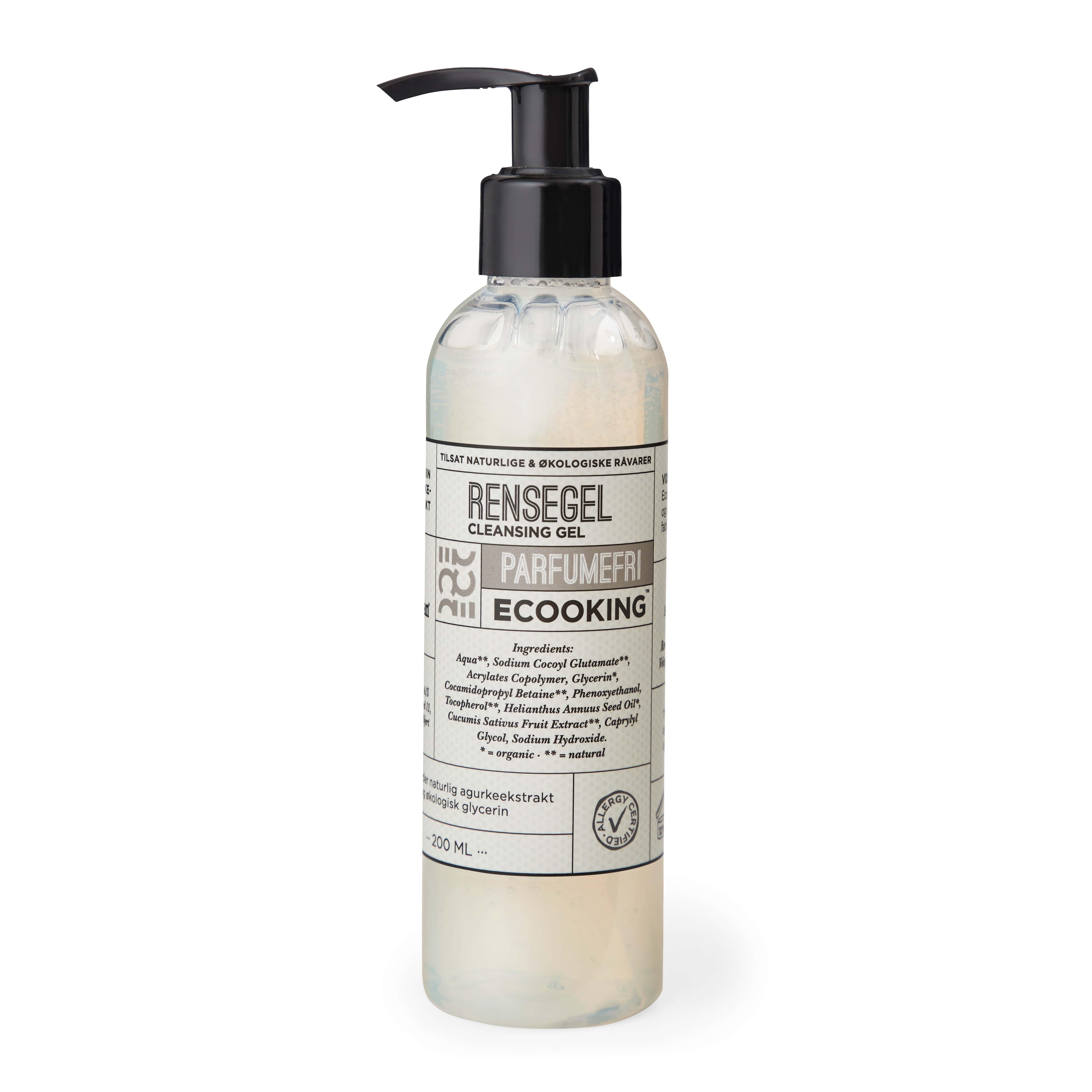 Ecooking Parfumefri Rensegel, 200 ml
