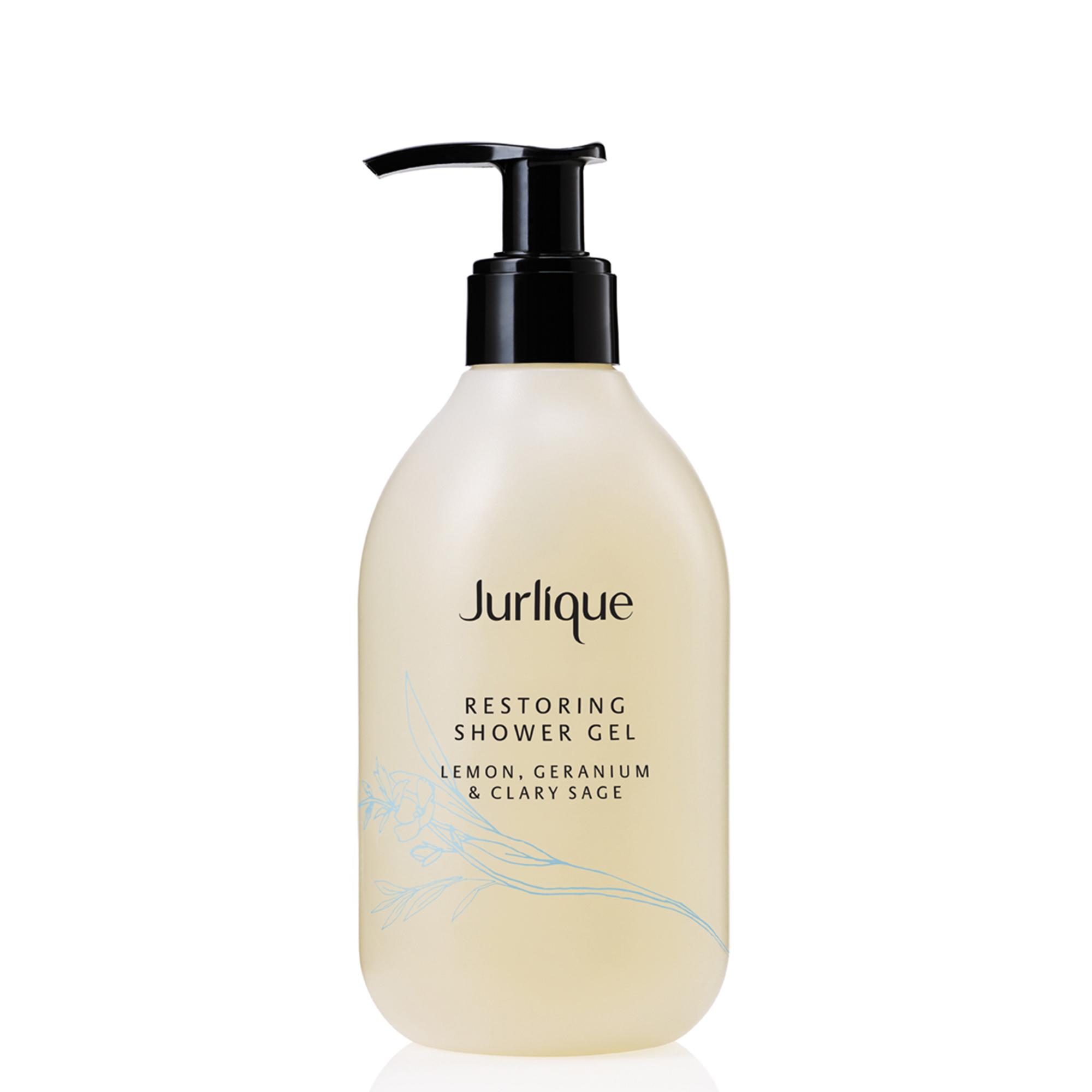 Jurlique Restoring Lemon, Geranium & Clary Sage Shower Gel, 300 ml