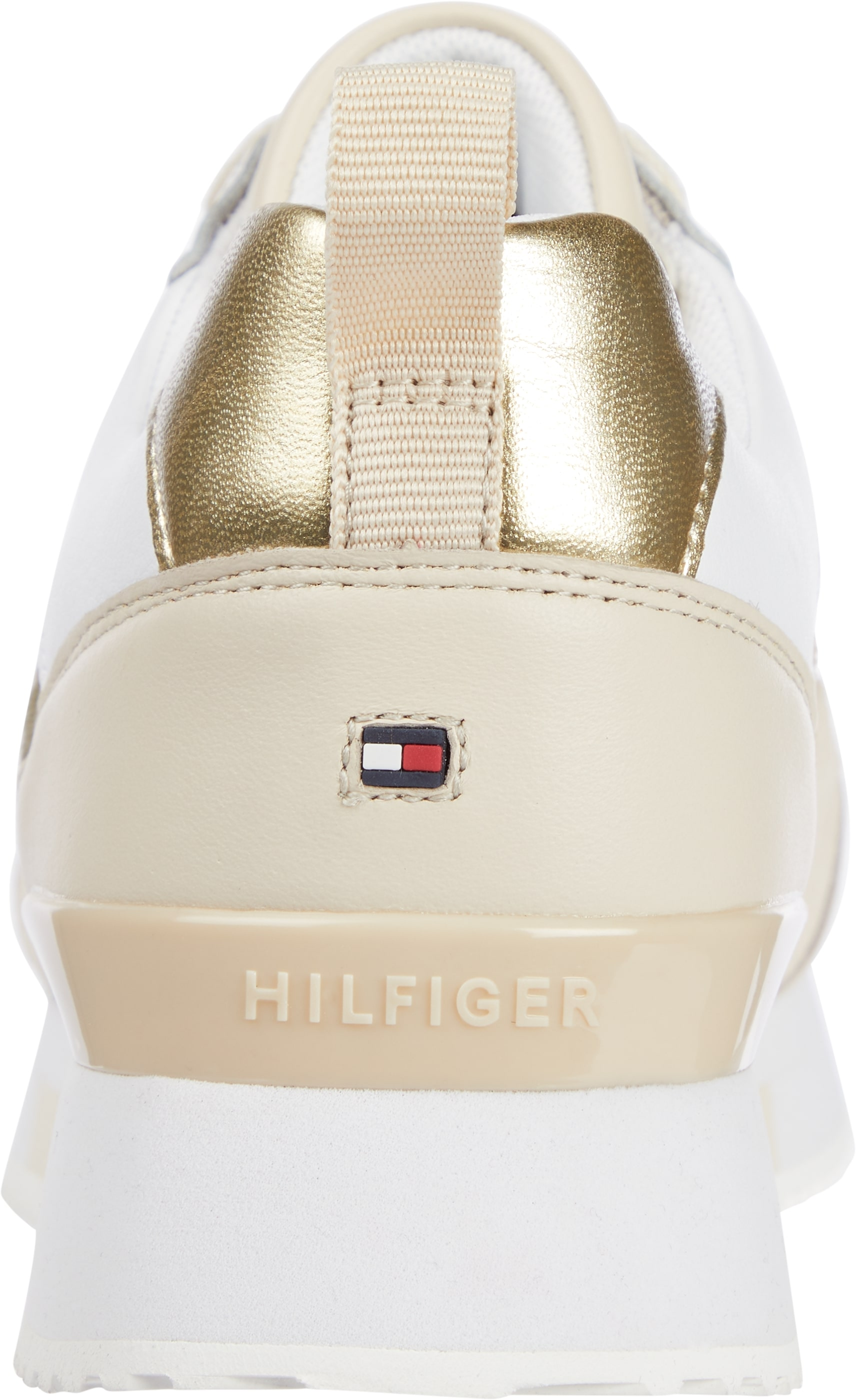 Tommy Hilfiger Material Mix Active sneakers, sugarcane, 38