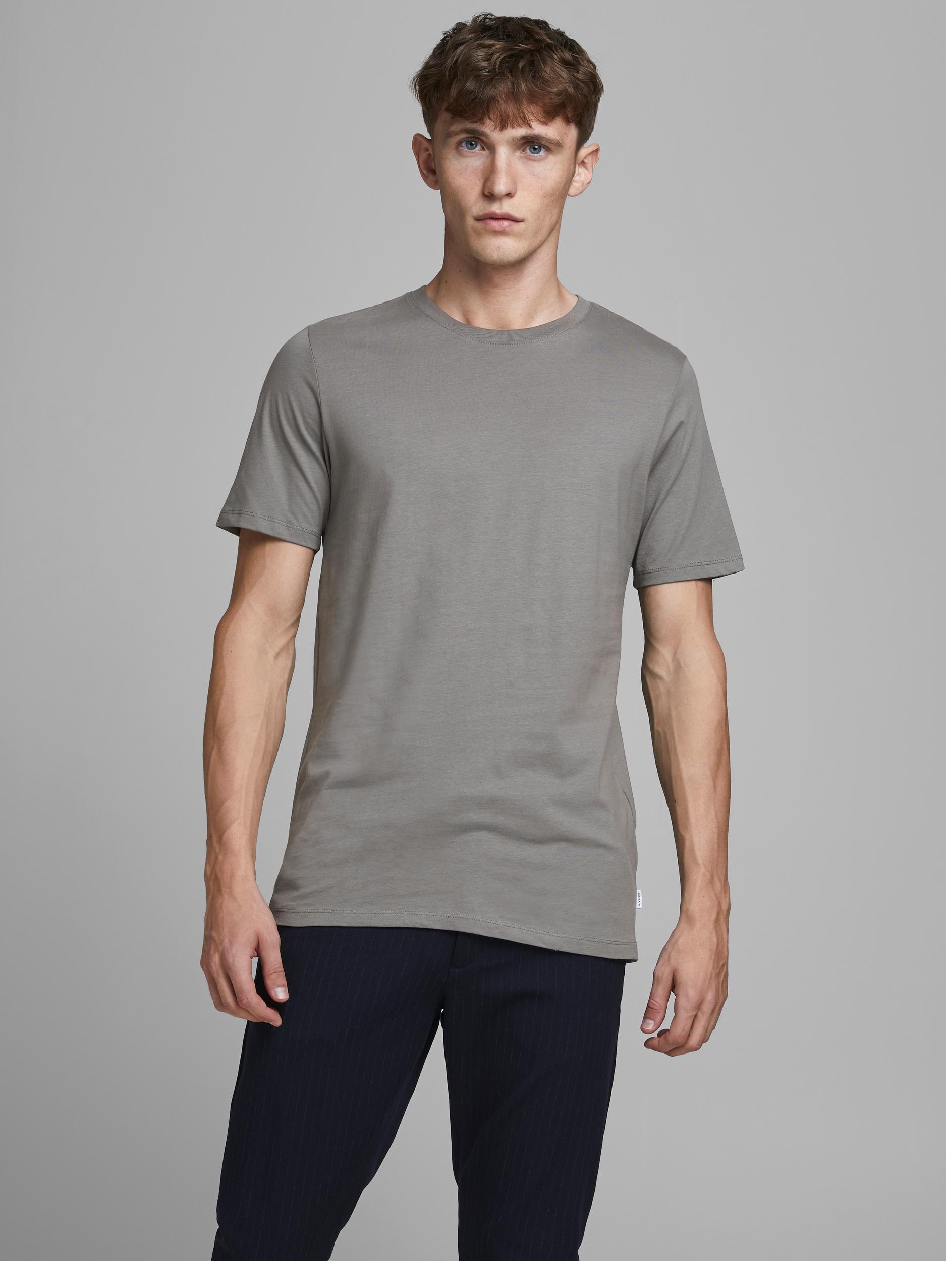 Jack & Jones Organic Basic t-shirt, sedona sage, medium