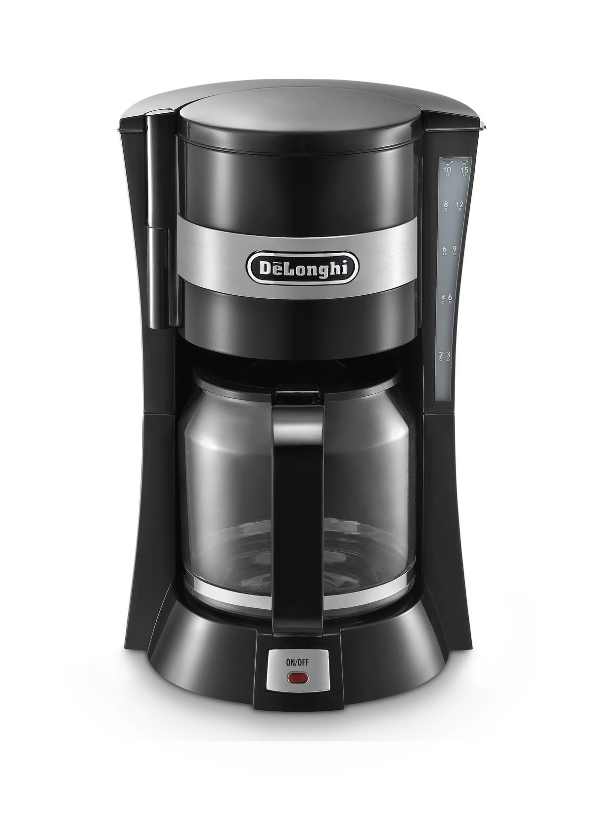 DeLonghi Active Line filterkaffemaskine, sort