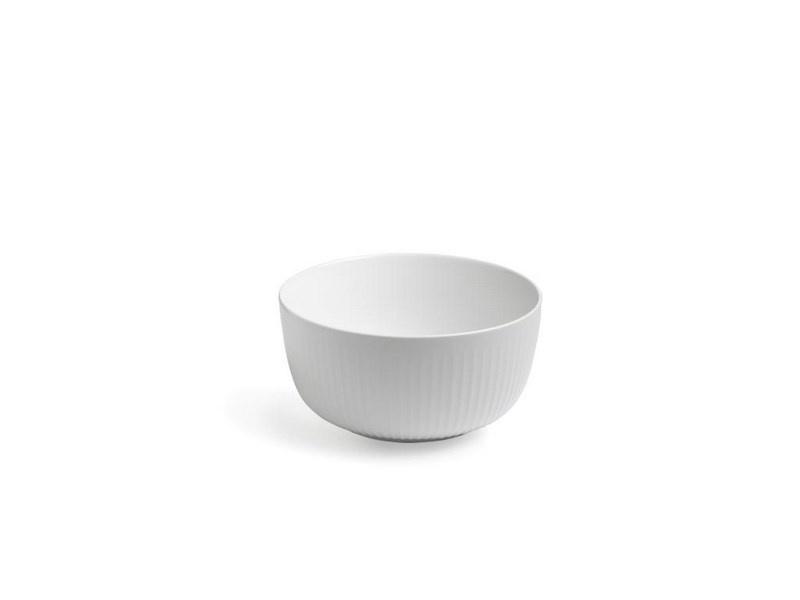 Kähler Hammershøi skål, Ø21 cm, hvid