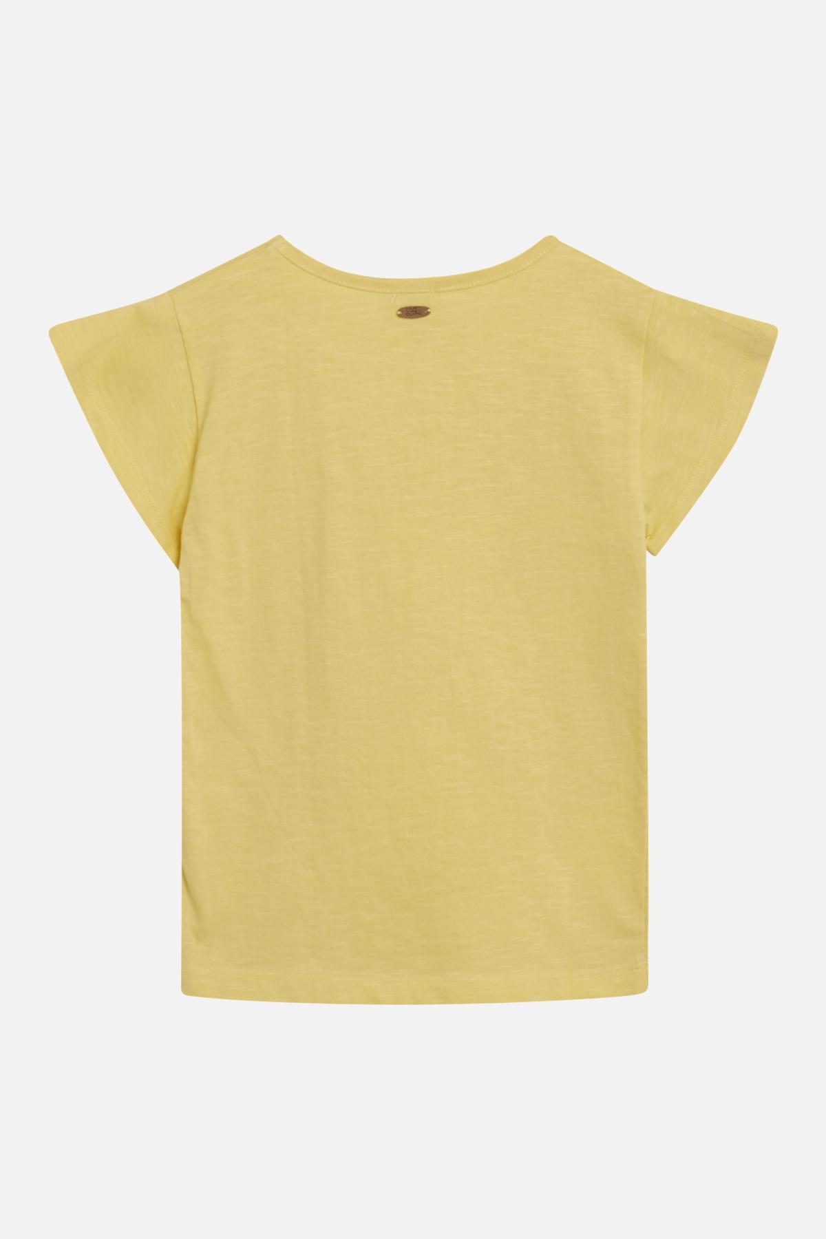 Hust & Claire Aiko t-shirt, citron, 110